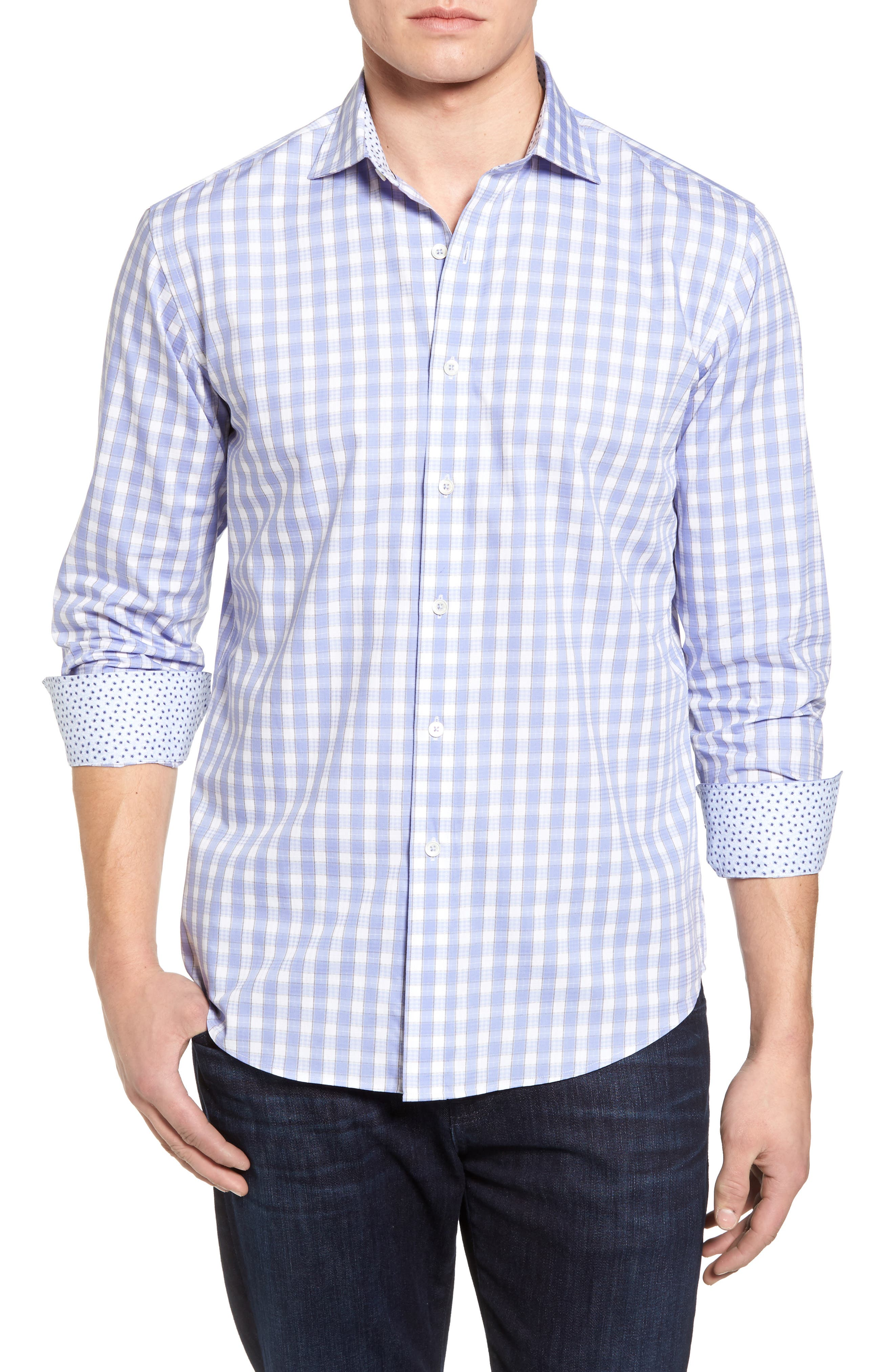 Shaped Fit Sport Shirt,                         Main,                         color, 531