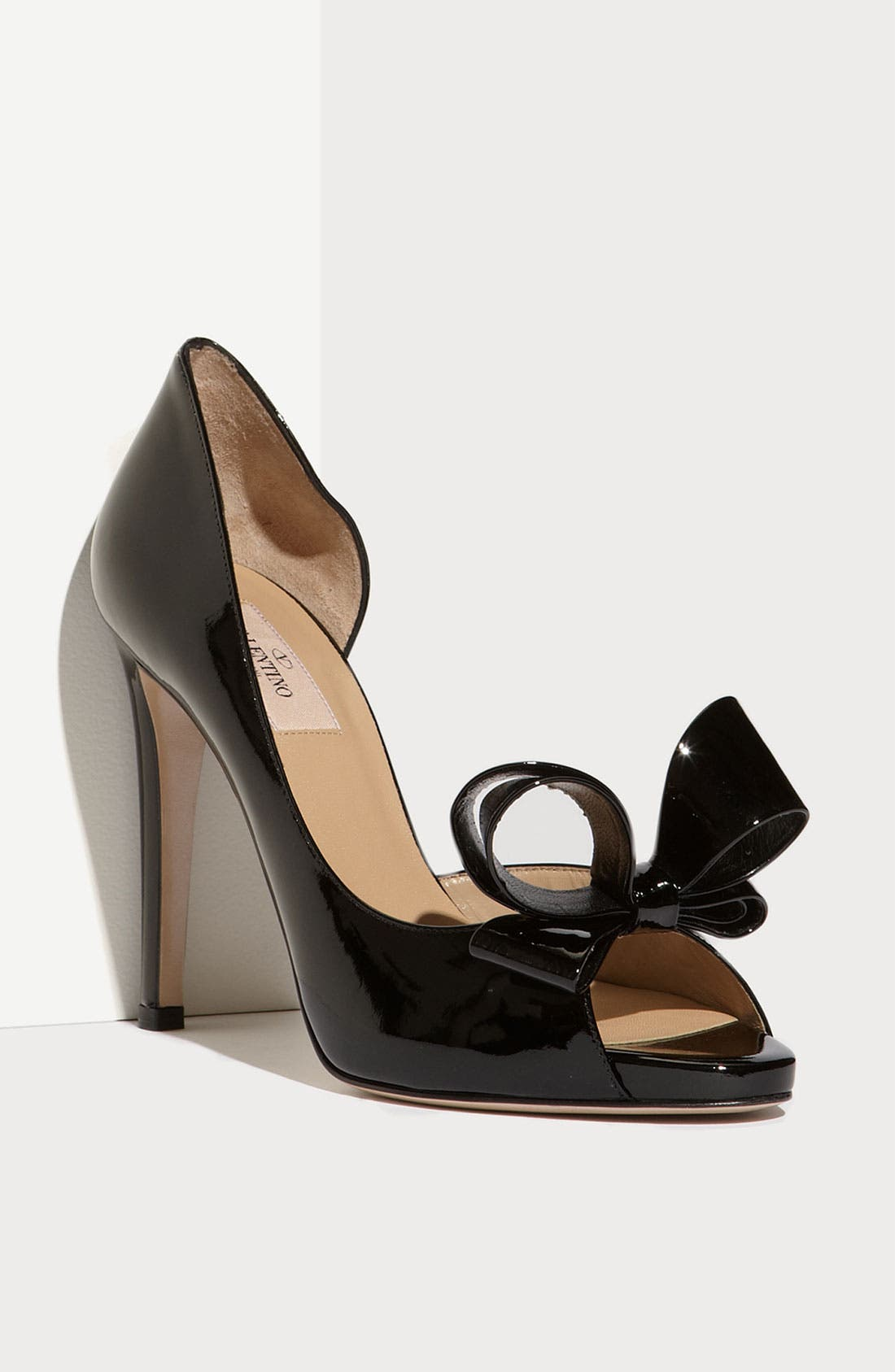 Couture Bow d'Orsay Pump,                         Main,                         color, 001