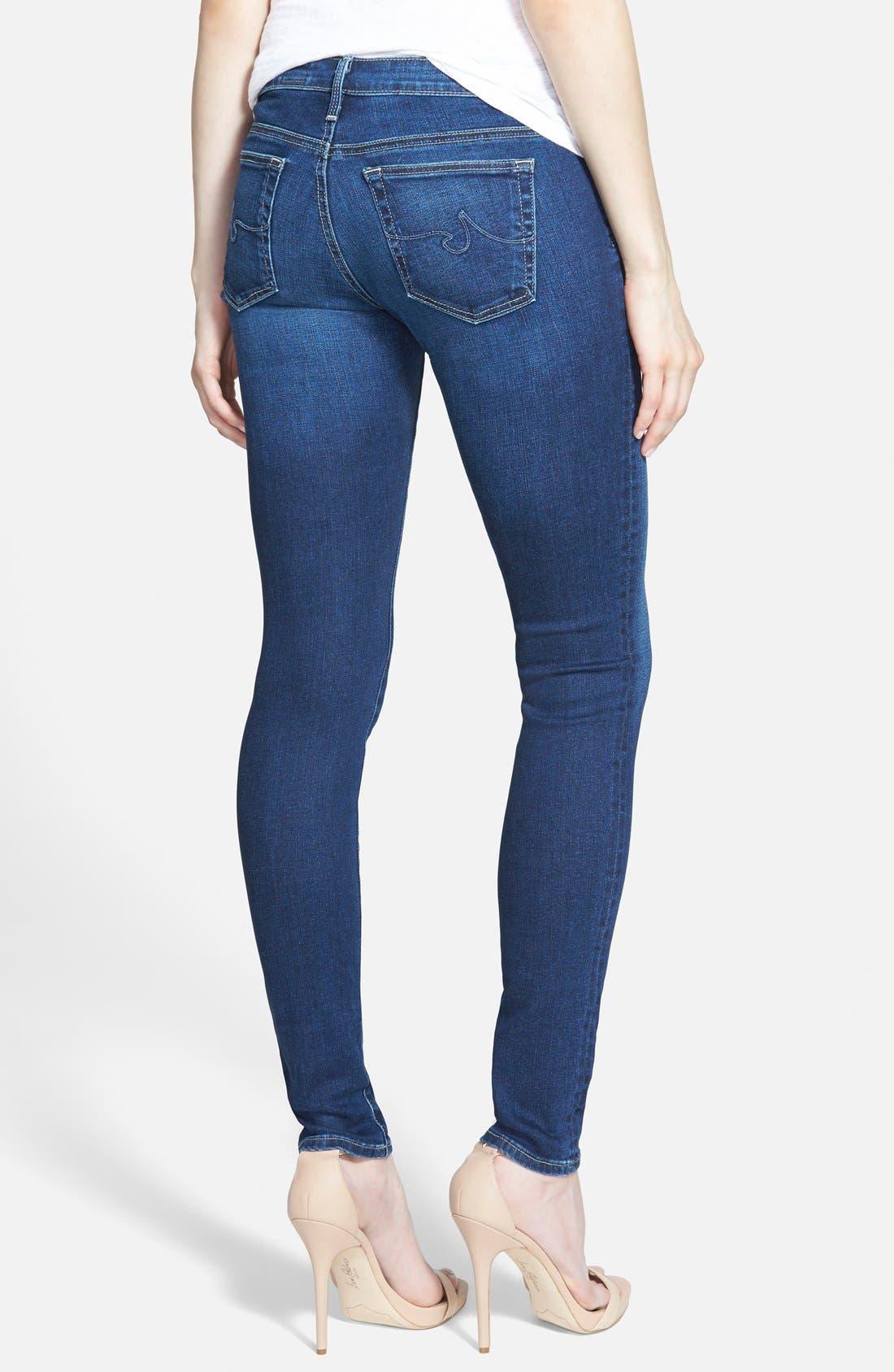 'The Legging' Super Skinny Jeans,                             Alternate thumbnail 23, color,