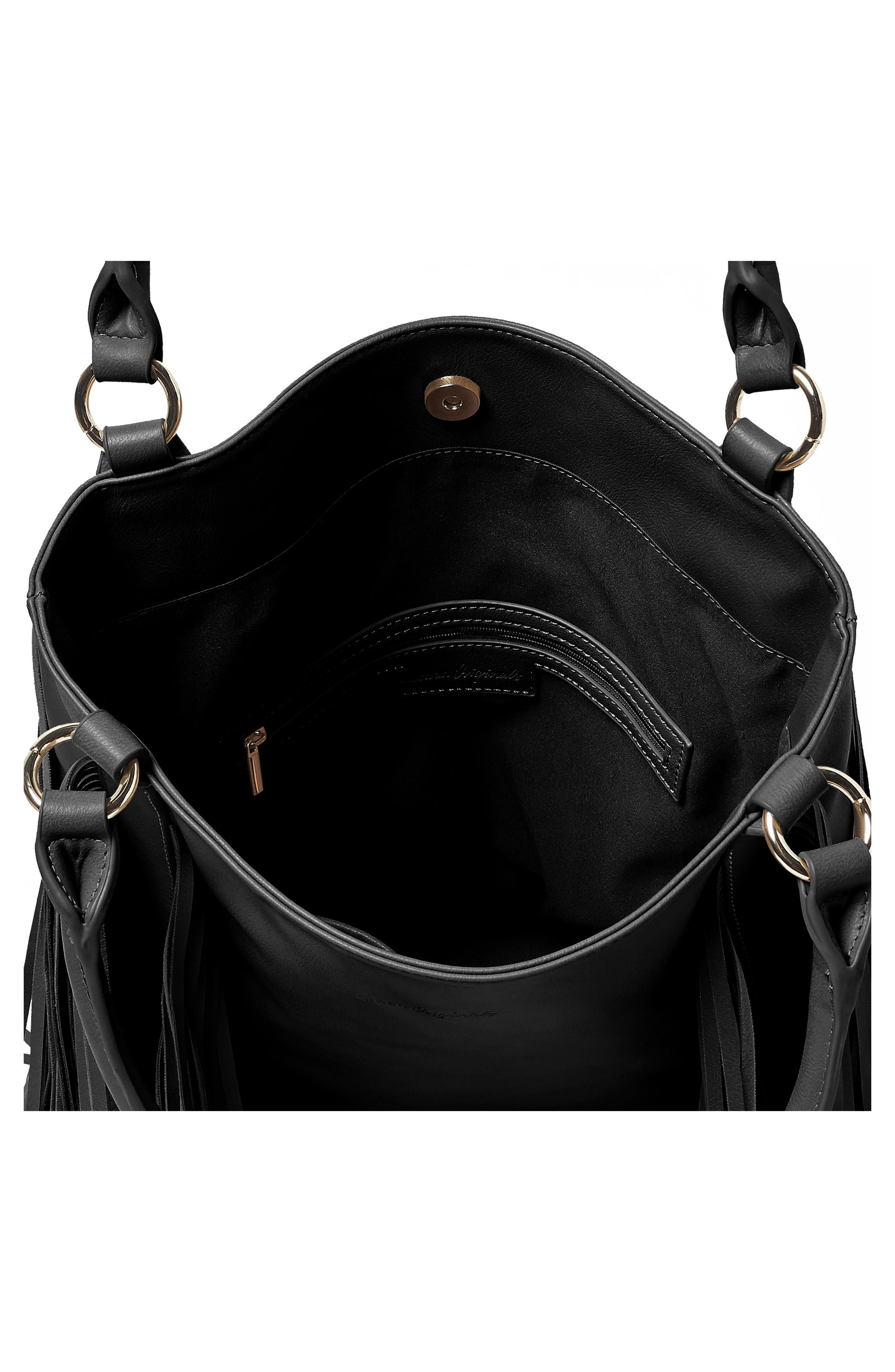 Crazy Love Vegan Leather Tote,                             Alternate thumbnail 2, color,                             001