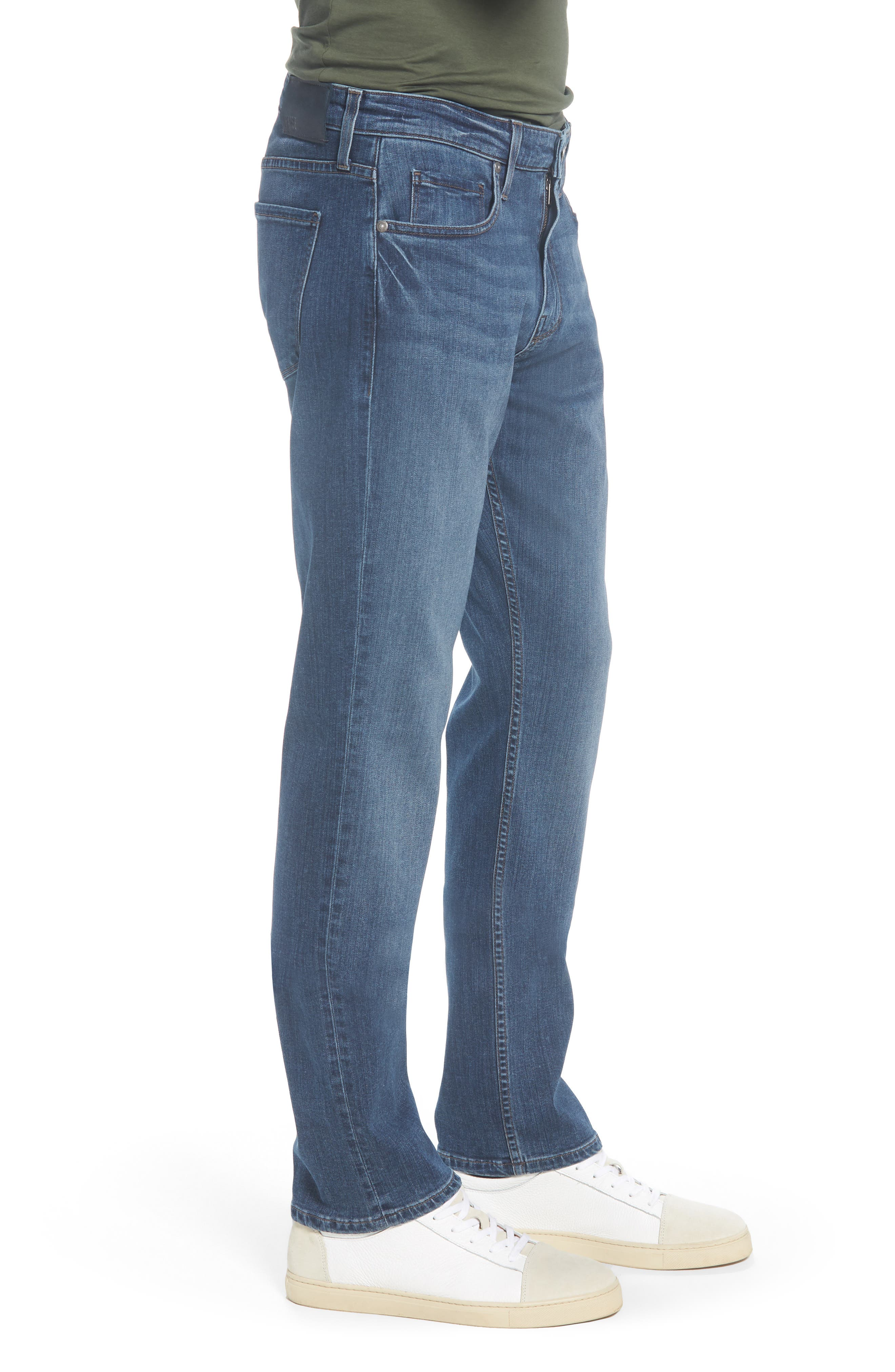PAIGE,                             Federal Slim Straight Leg Jeans,                             Alternate thumbnail 3, color,                             400