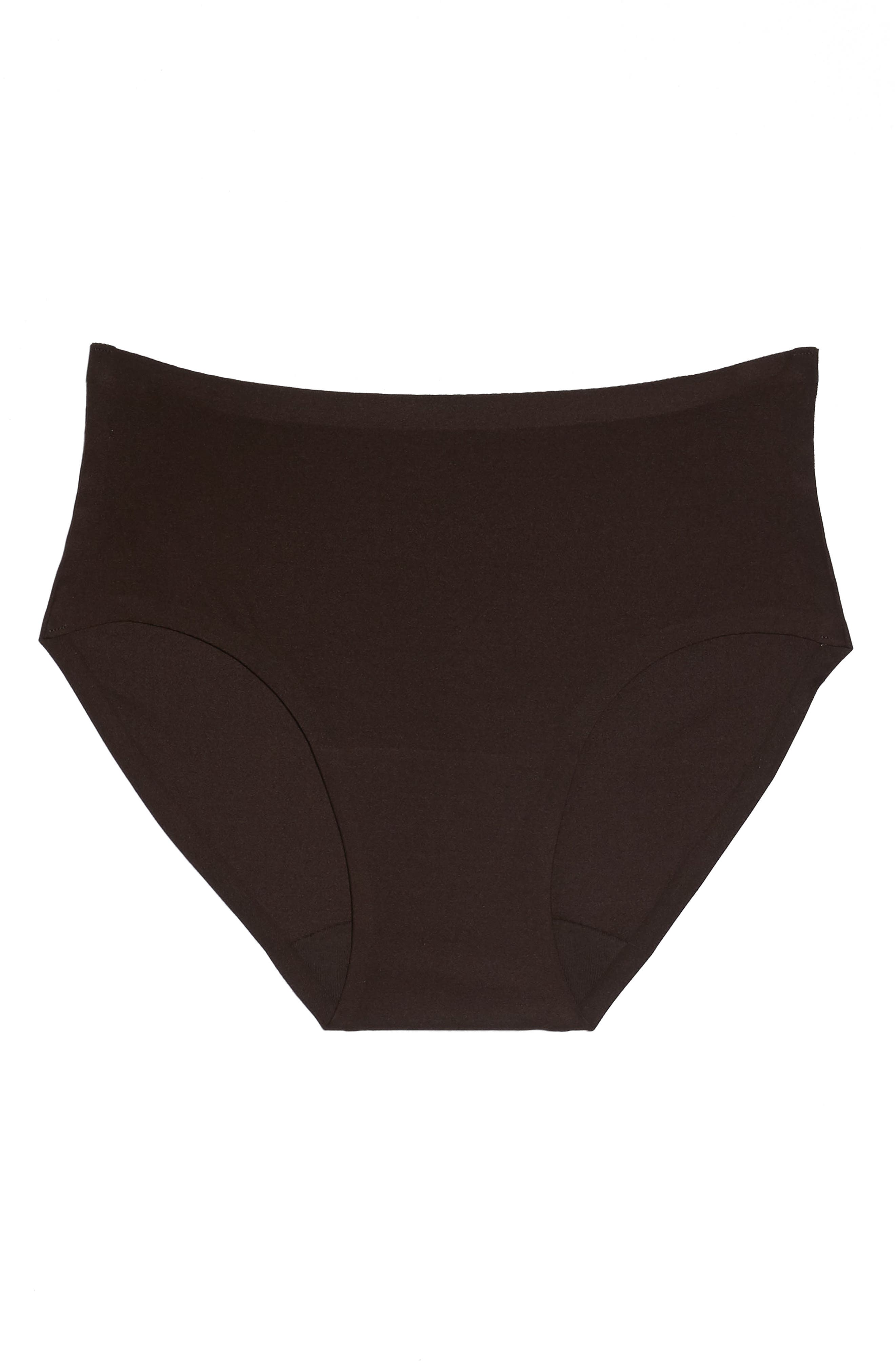 Soft Stretch Seamless Hipster Panties,                             Alternate thumbnail 6, color,                             BROWN