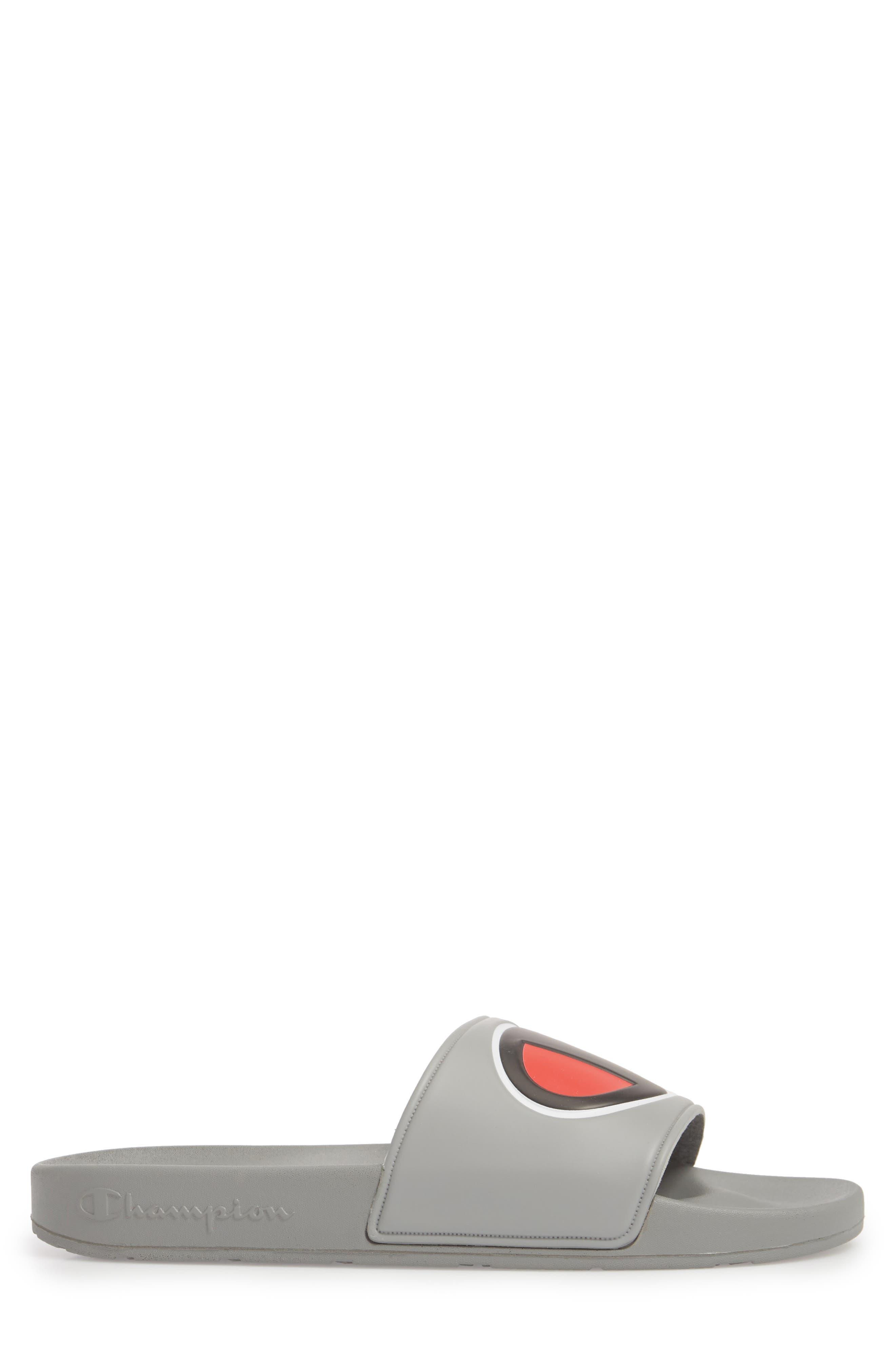 IPO Sports Slide Sandal,                             Alternate thumbnail 3, color,                             GREY