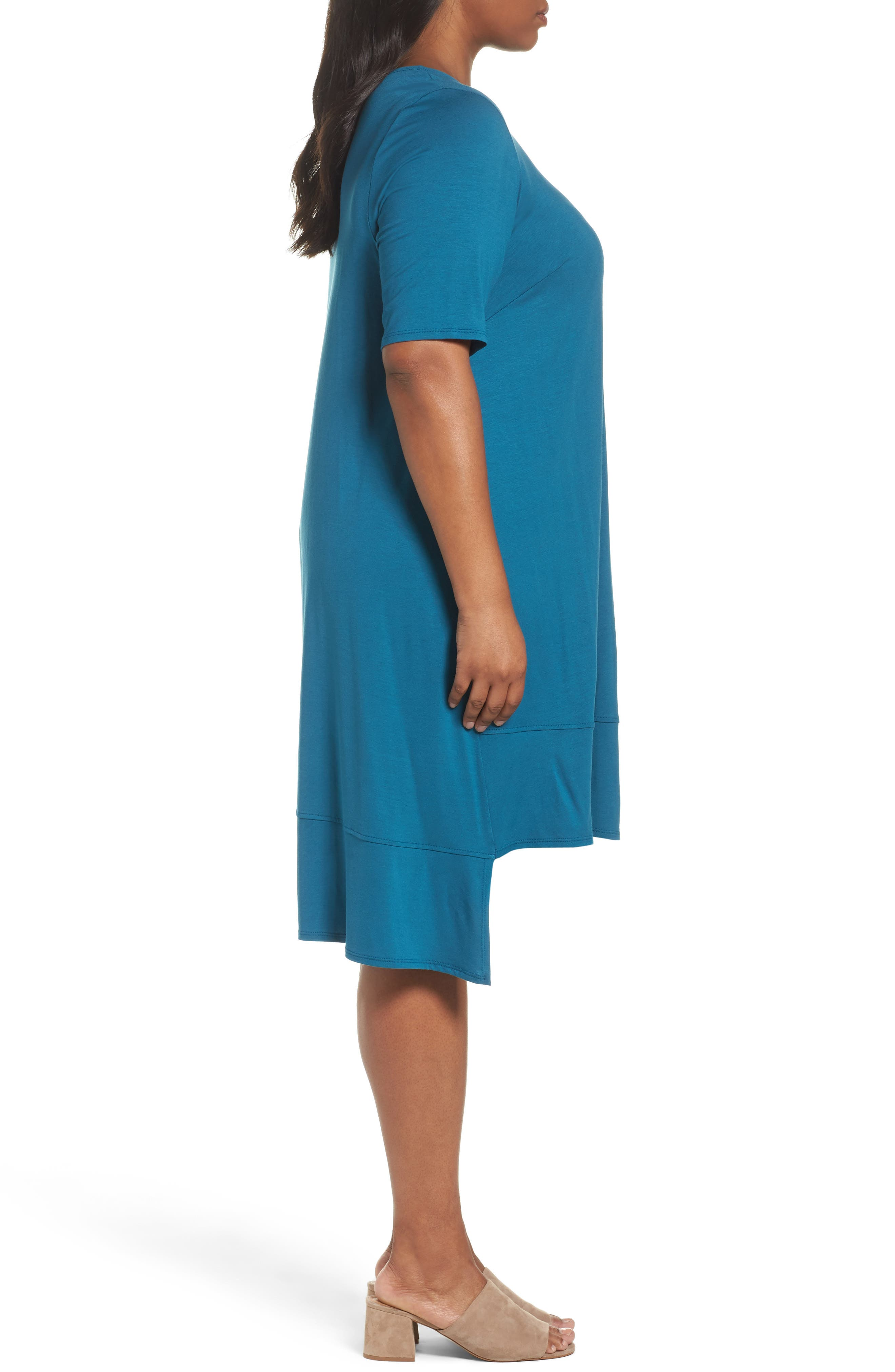 Jersey Shift Dress,                             Alternate thumbnail 11, color,