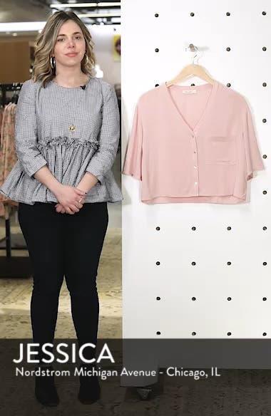 Crepe Button Front Shirt, sales video thumbnail