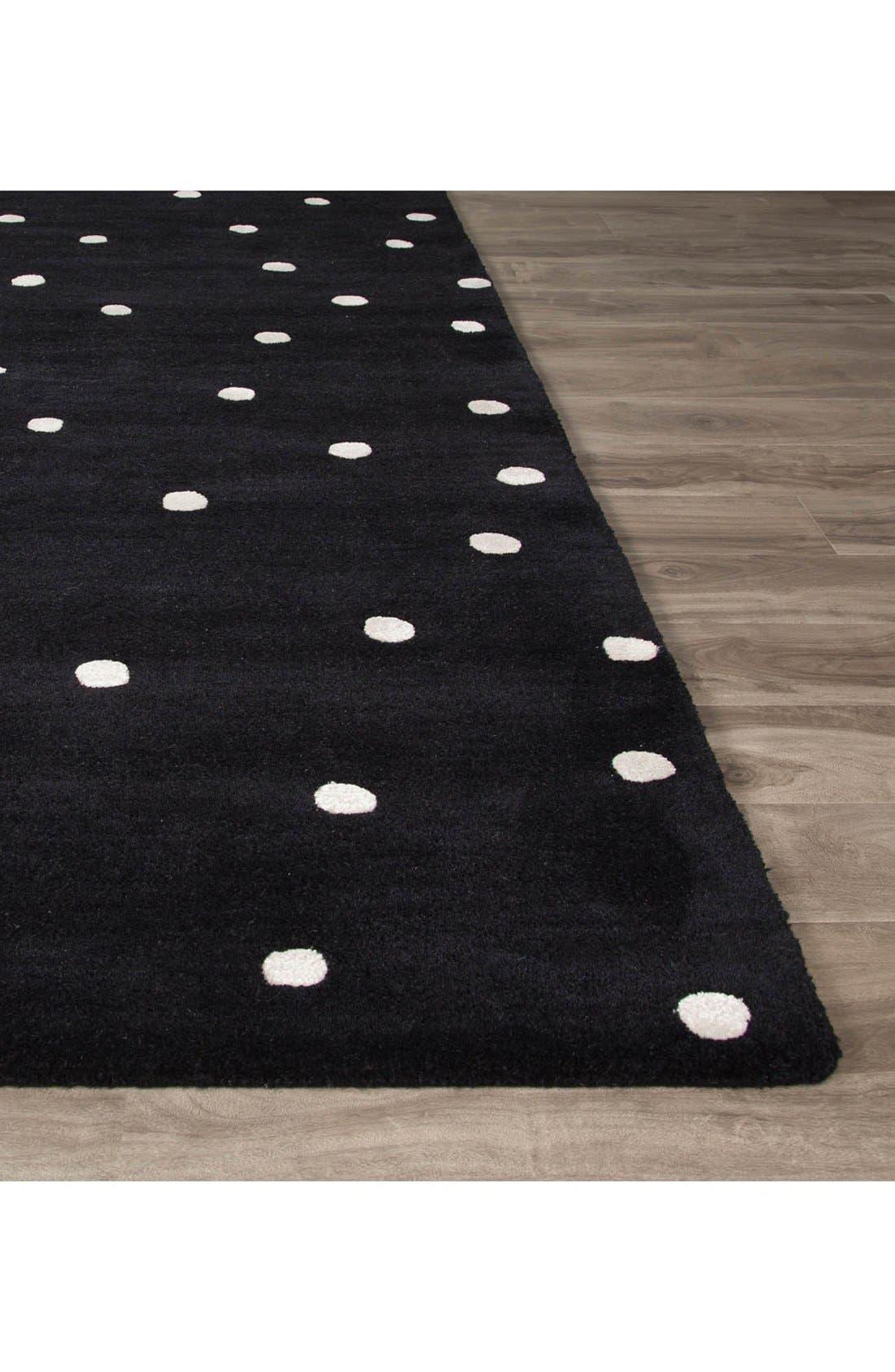 'gramercy - dots' rug,                             Alternate thumbnail 6, color,