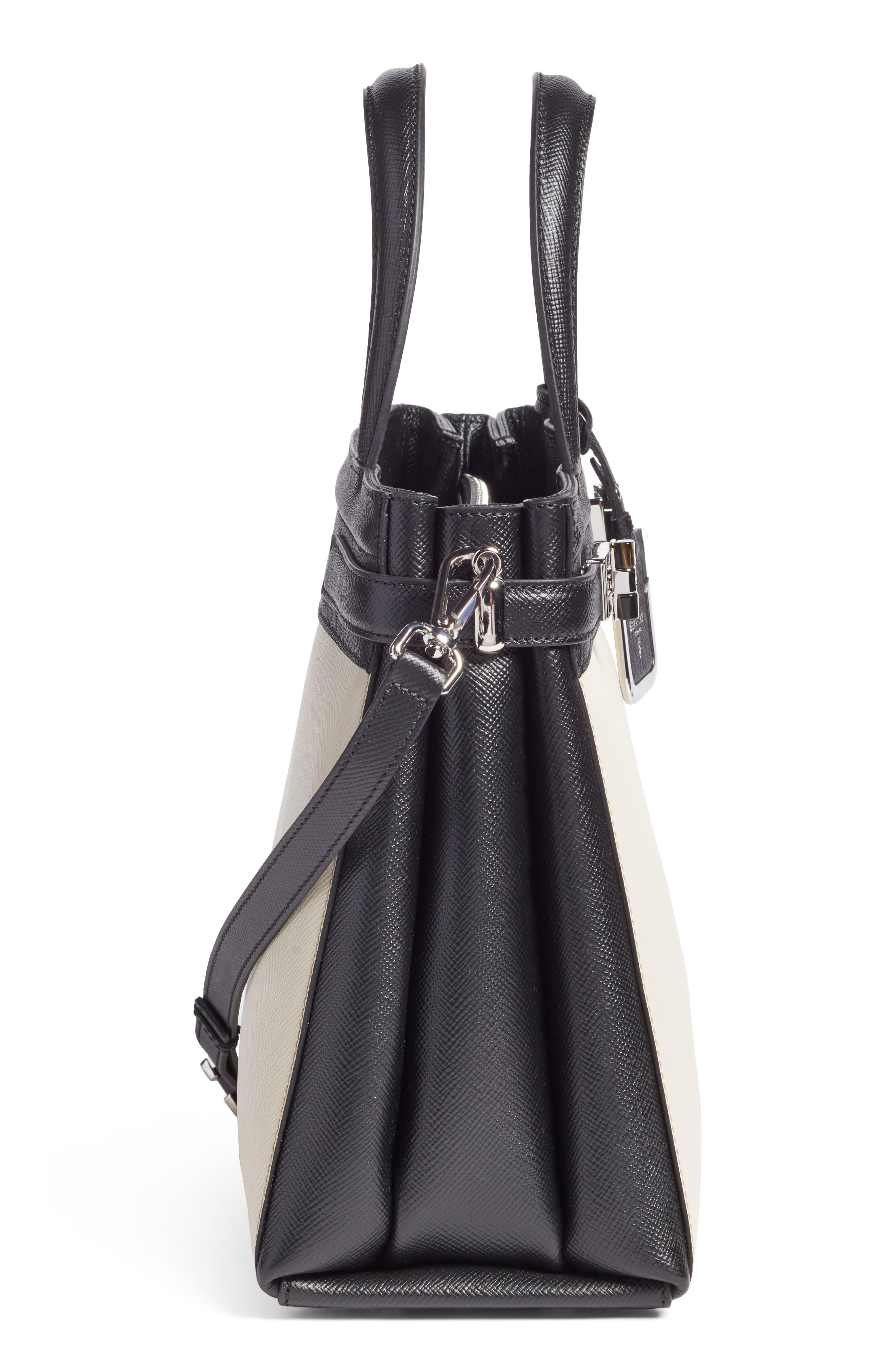 Small Meline Evolution Leather Bag,                             Alternate thumbnail 18, color,