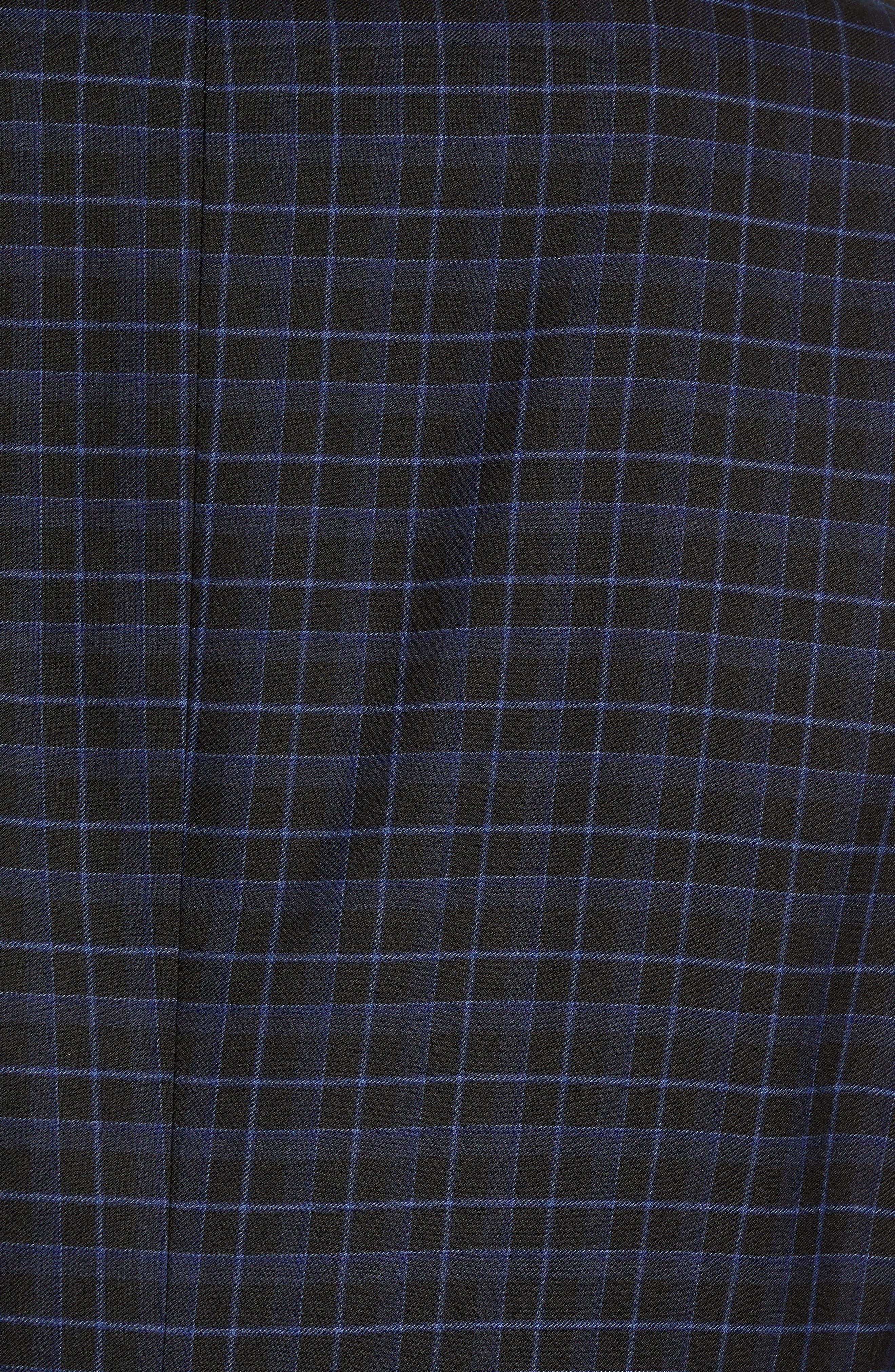 Alsager Slim Fit Check Suit Pants,                             Alternate thumbnail 5, color,                             021