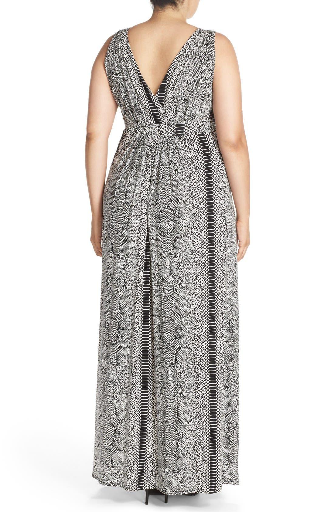 Chloe Empire Waist Maxi Dress,                             Alternate thumbnail 42, color,