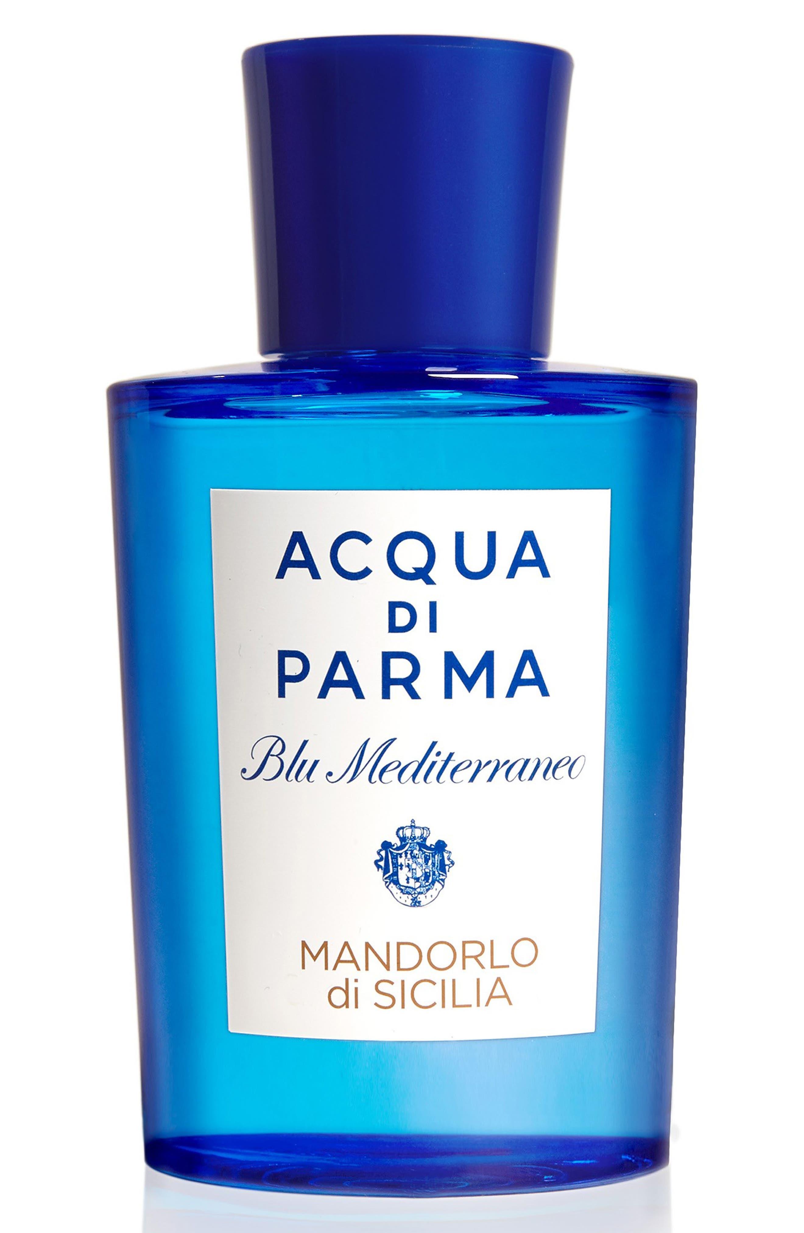 'Blu Mediterraneo' Mandorlo di Sicilia Eau de Toilette Spray,                             Main thumbnail 1, color,                             NO COLOR