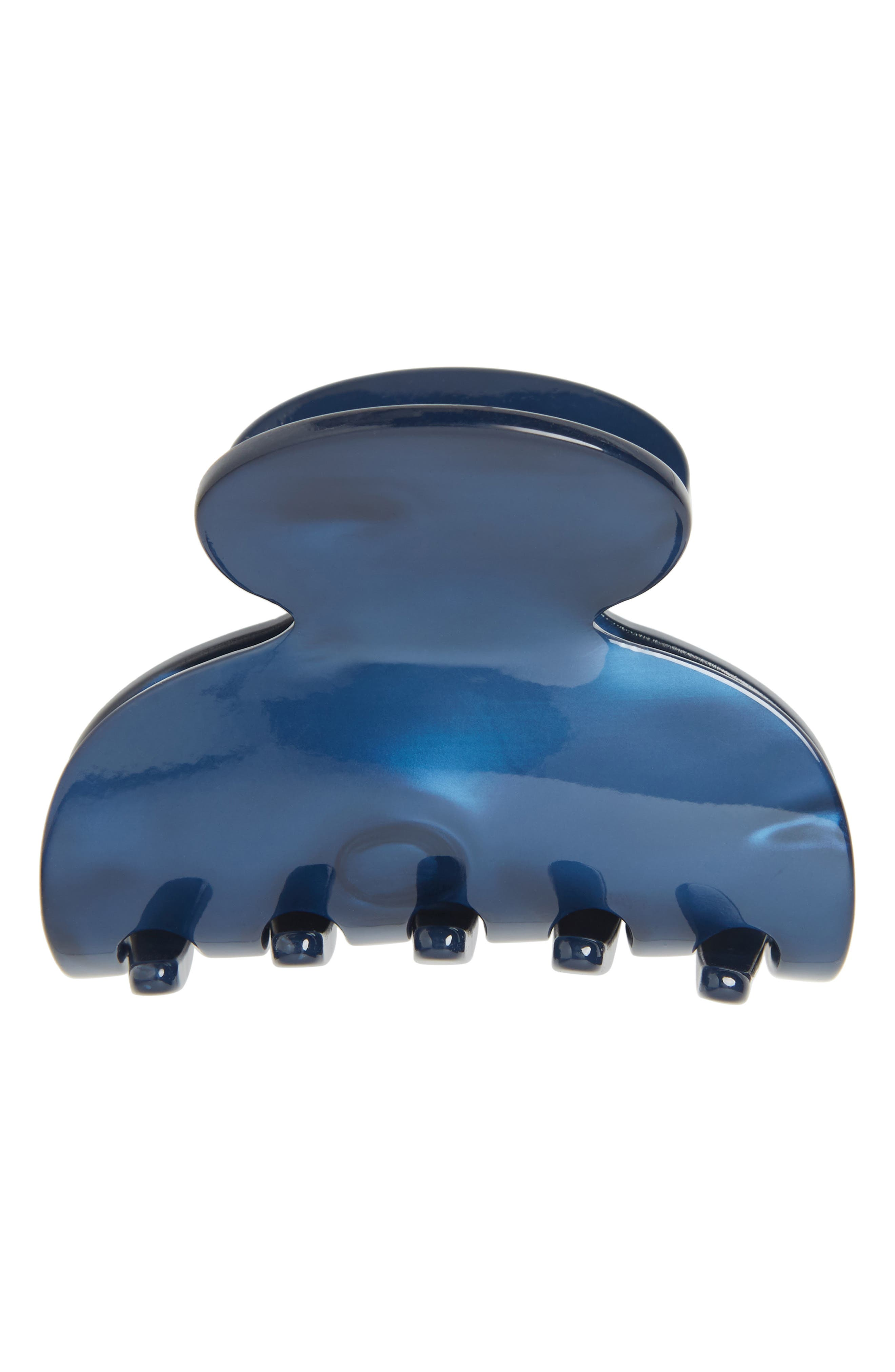 Small Couture Jaw Clip, Main, color, NACRO OCEAN