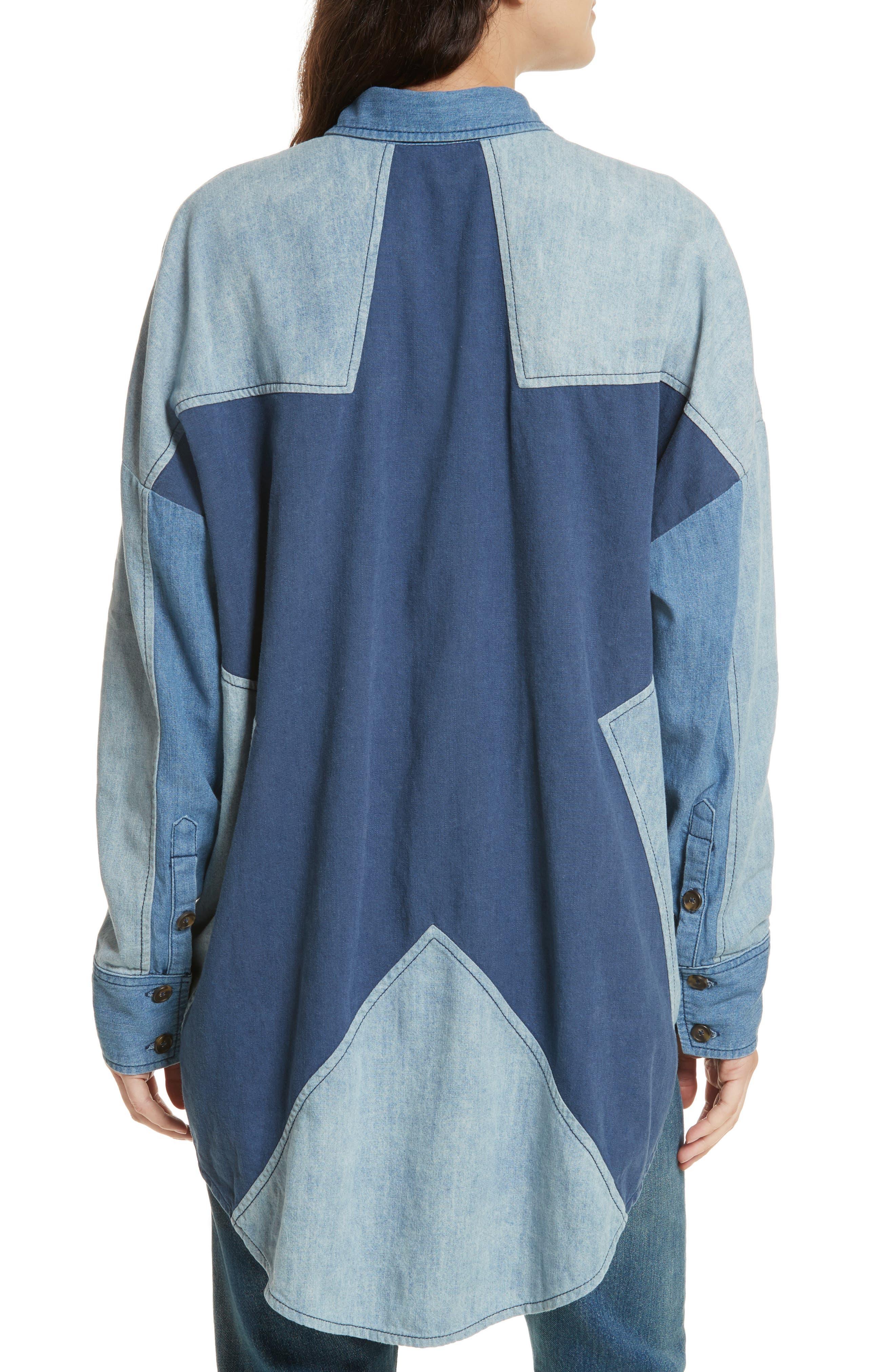 Superstar Chambray Shirt,                             Alternate thumbnail 2, color,                             400