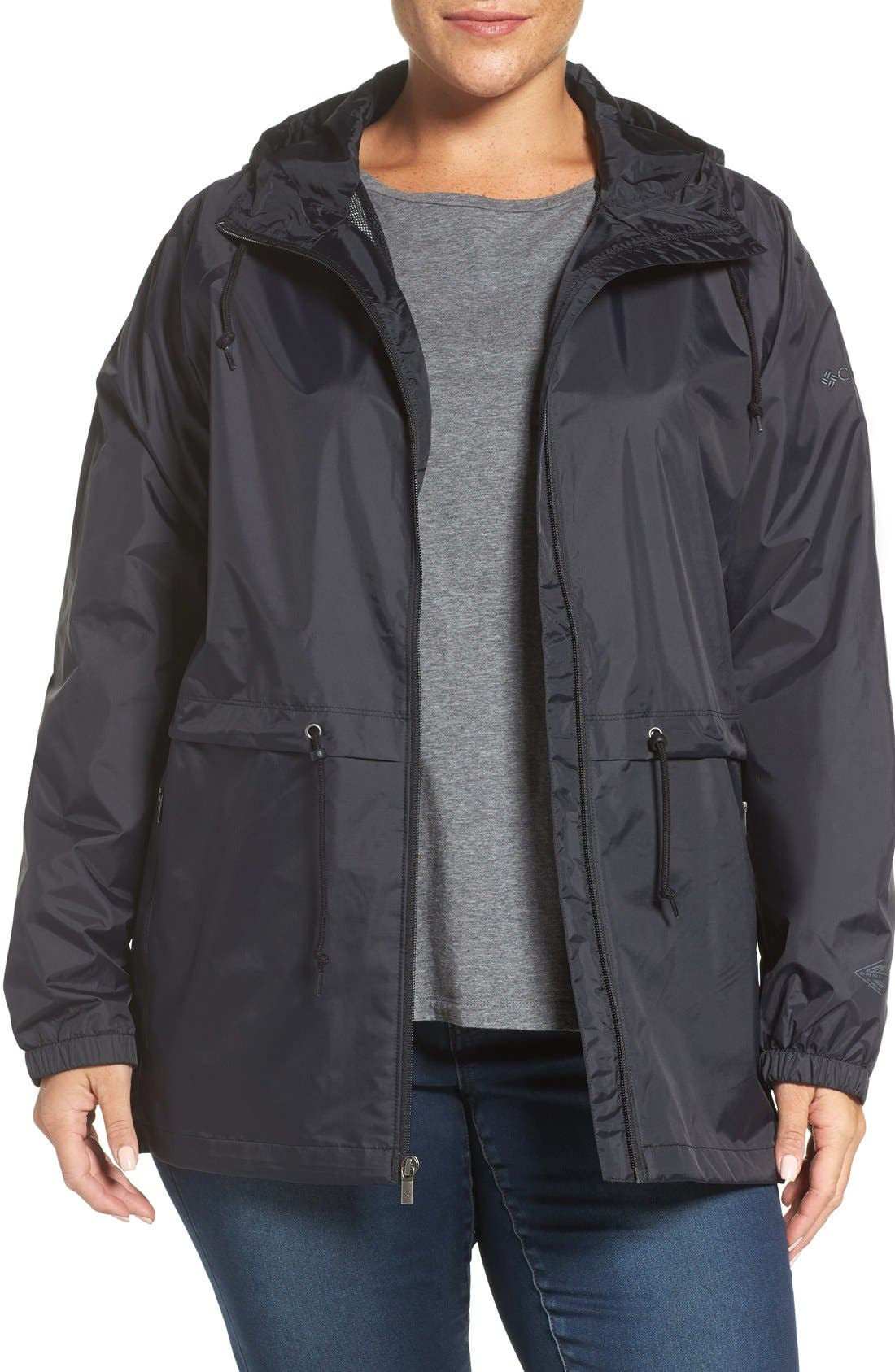 'Arcadia' Hooded Waterproof Casual Jacket,                             Main thumbnail 5, color,