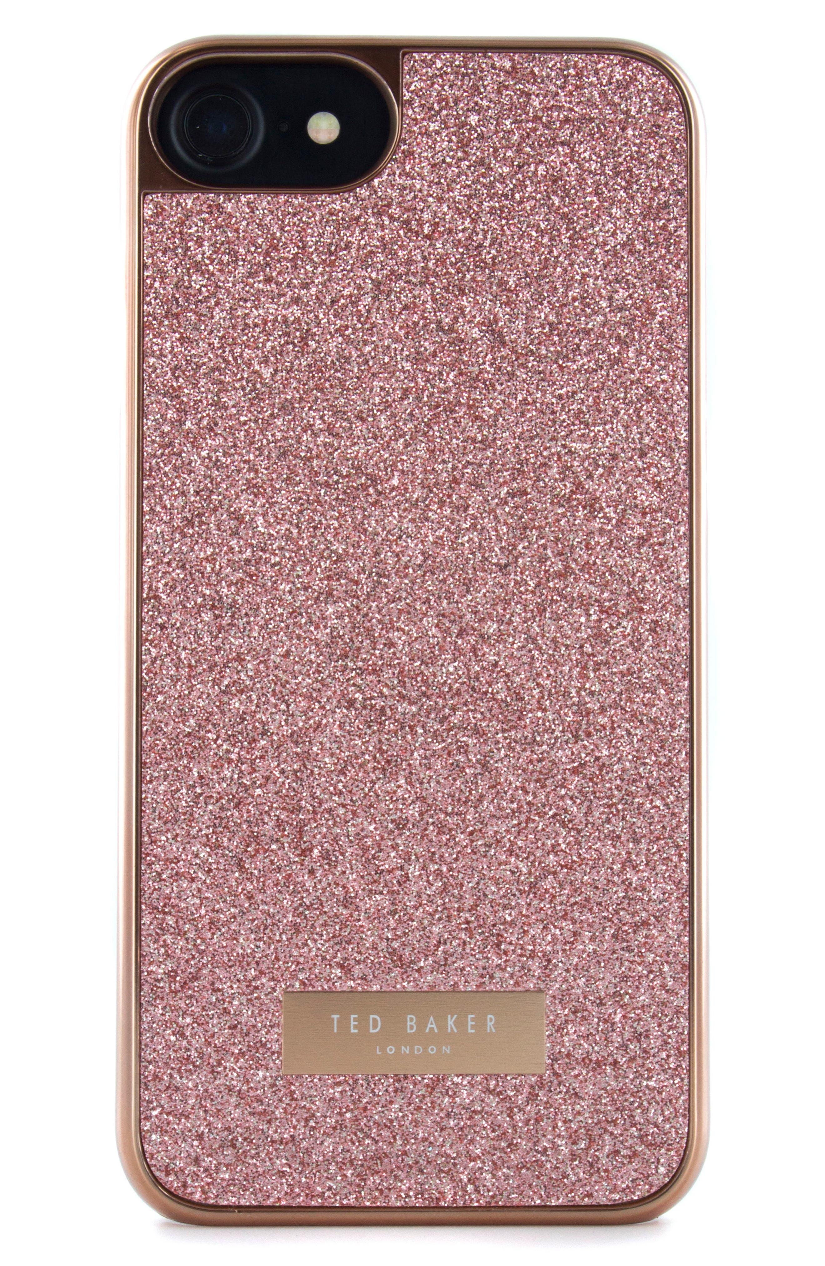 Sparkles iPhone 6/6s/7/8 & 6/6s/7/8 Plus Case,                             Alternate thumbnail 6, color,