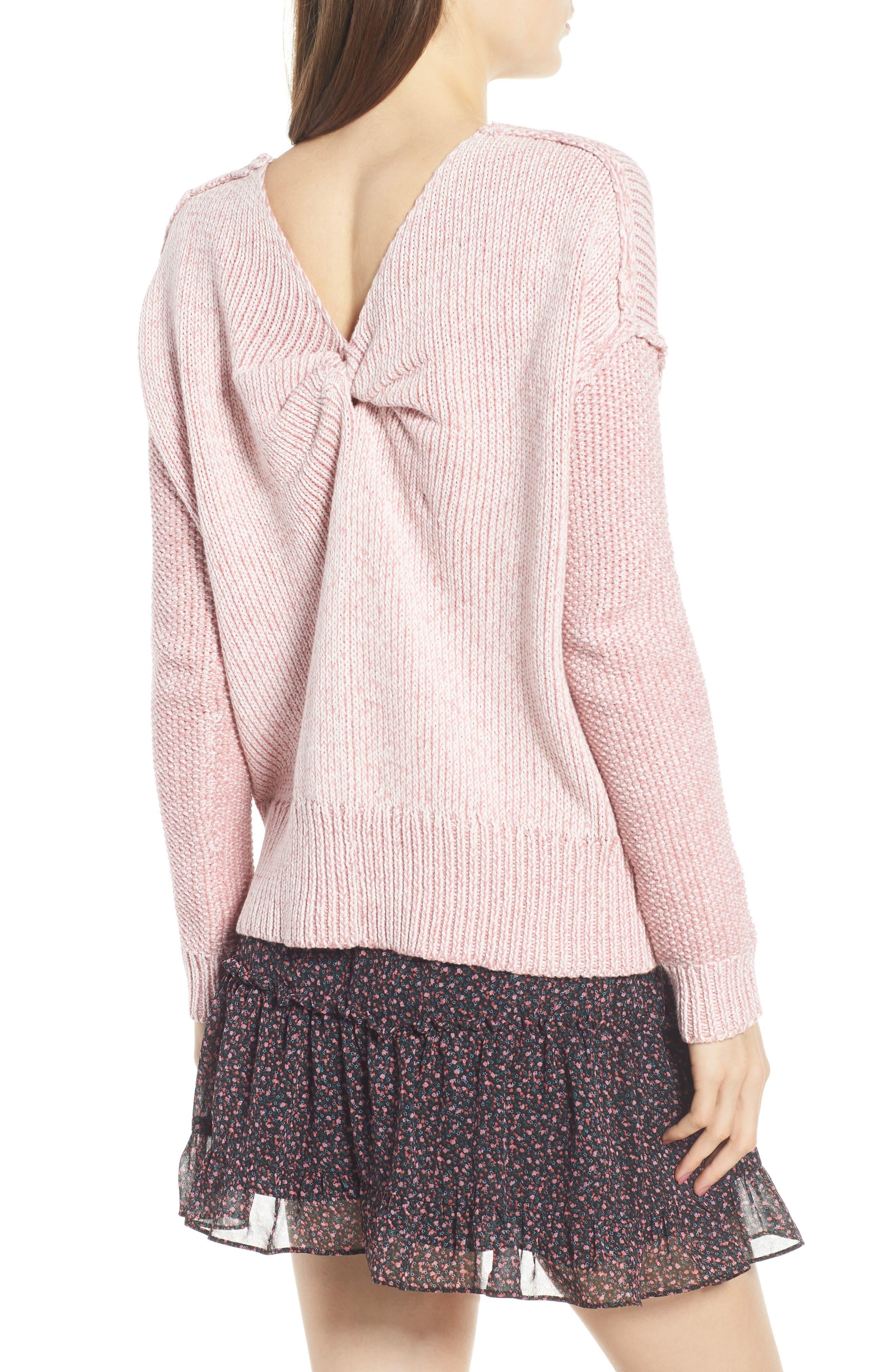 Lola Reversible Twist Sweater,                             Alternate thumbnail 9, color,
