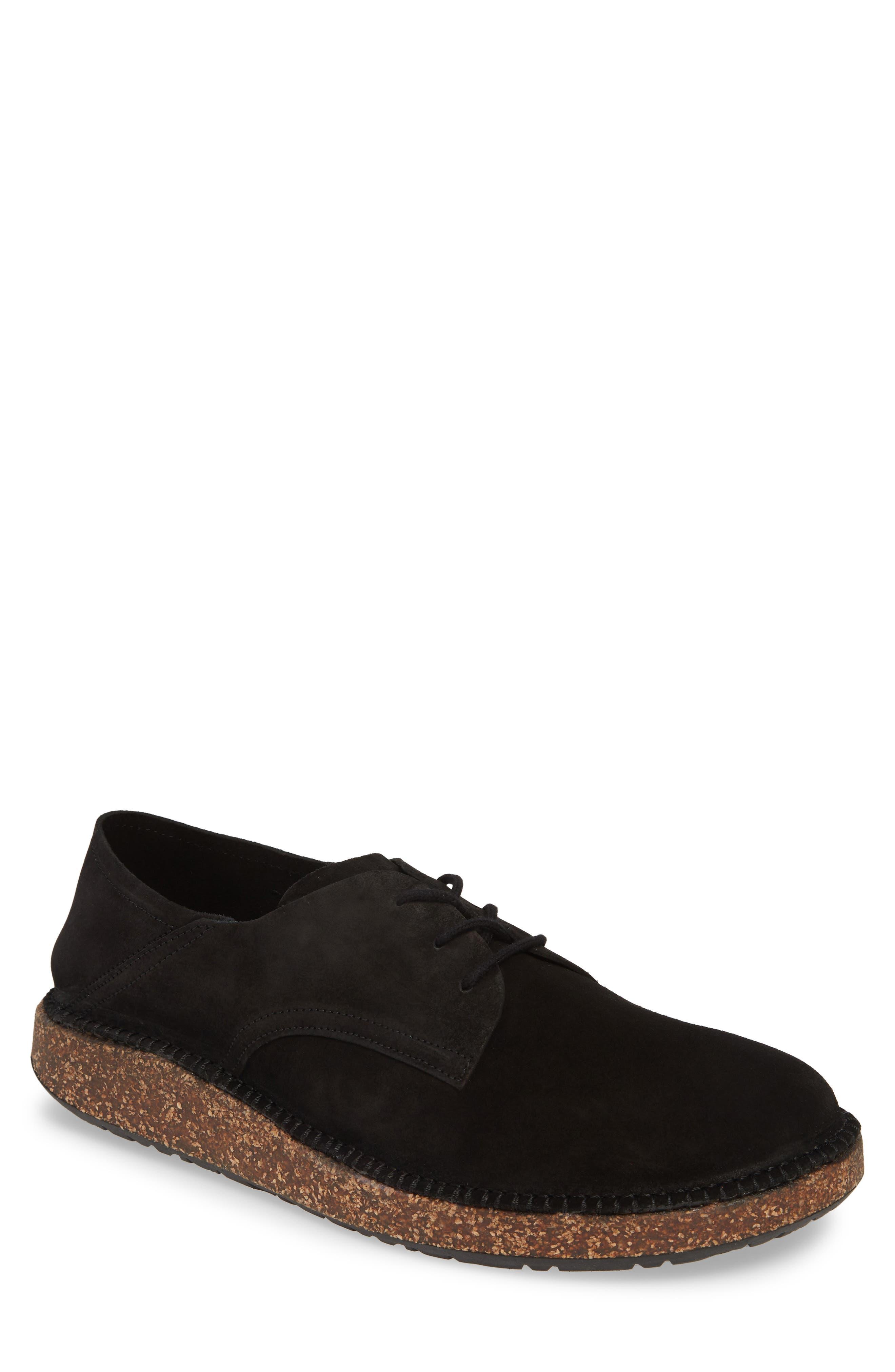 Birkenstock Gary Plain Toe Derby,12.5 - Black