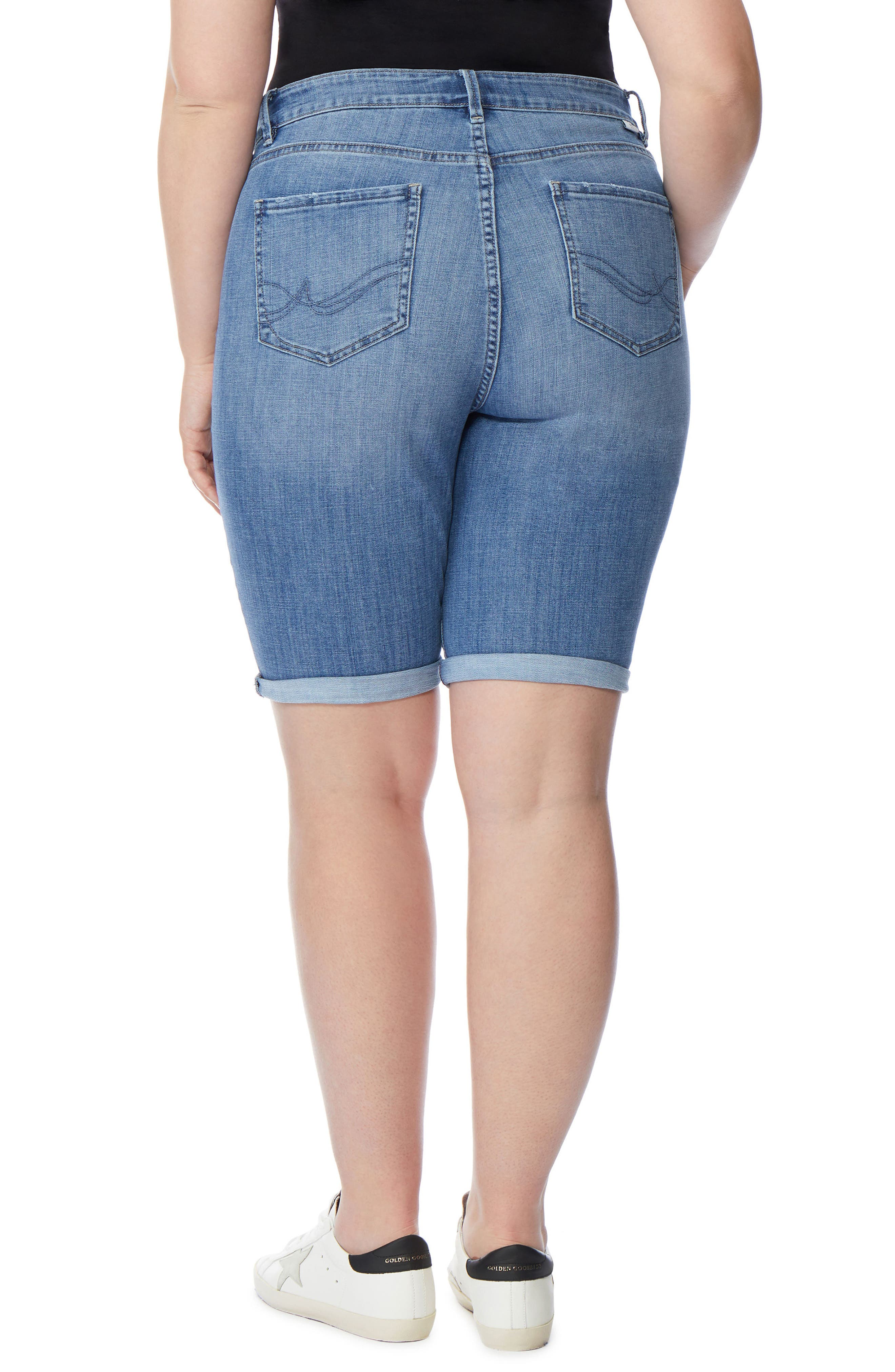 The Cruz Skinny Bermuda Shorts,                             Alternate thumbnail 2, color,                             432