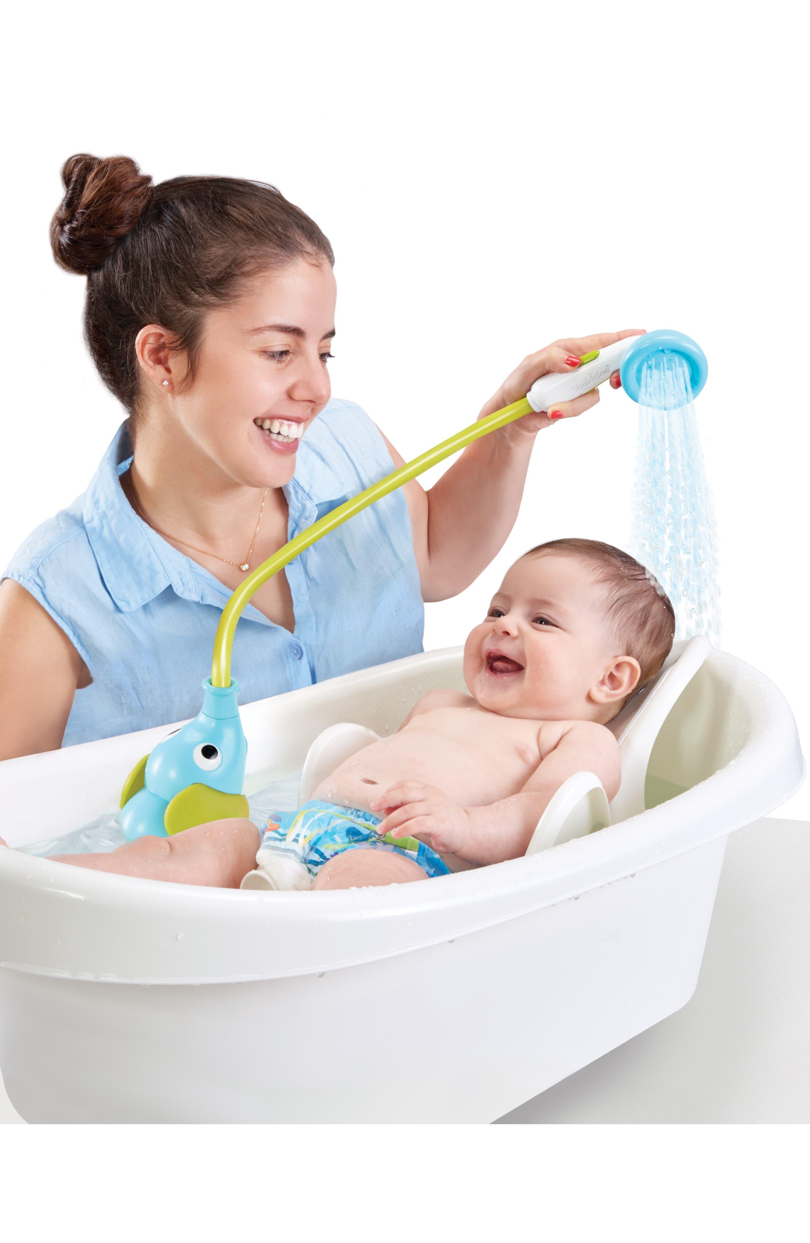 Elephant Baby Shower,                             Alternate thumbnail 4, color,                             BLUE