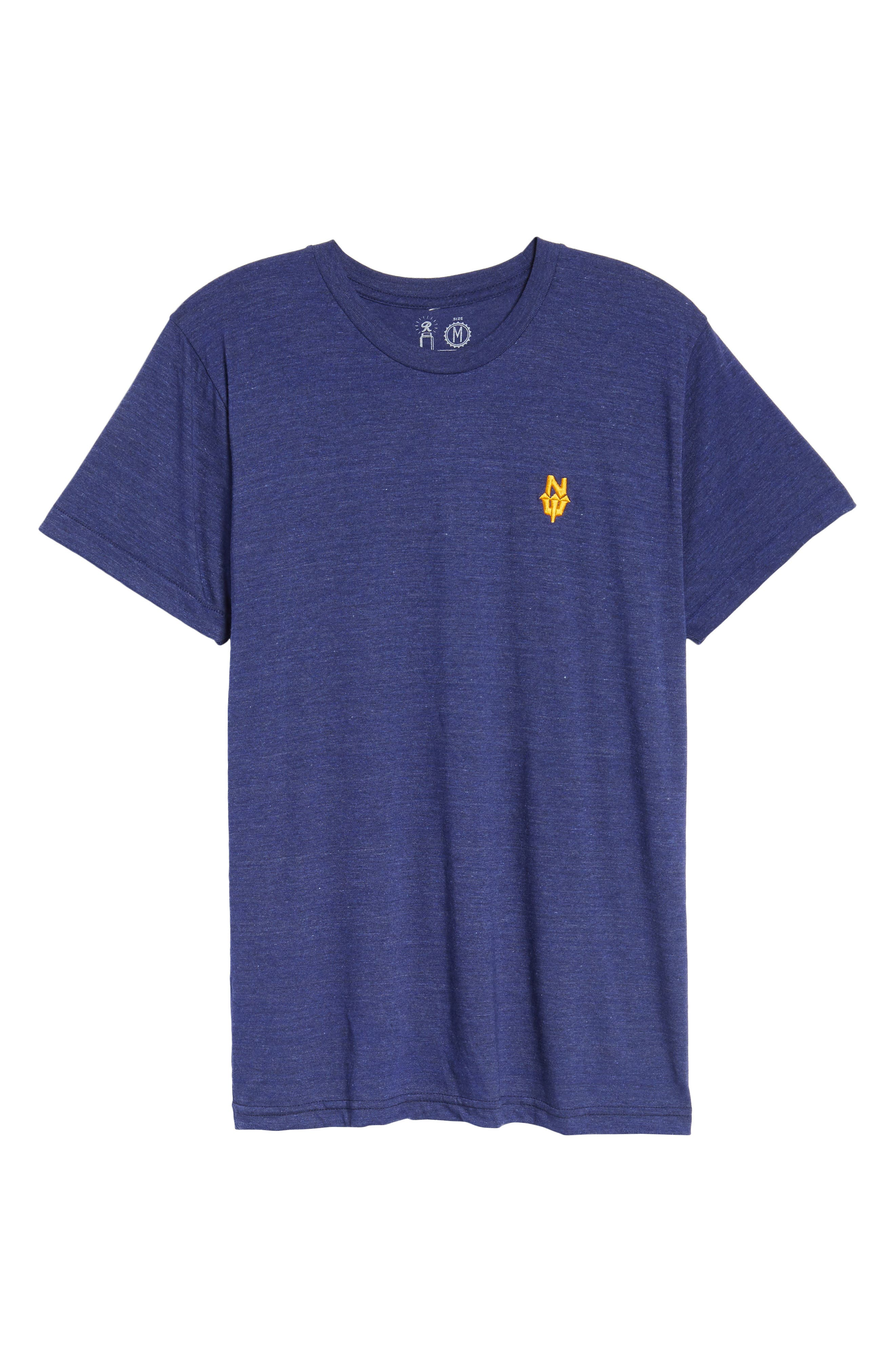 NW Trident Embroidered T-Shirt,                             Alternate thumbnail 18, color,