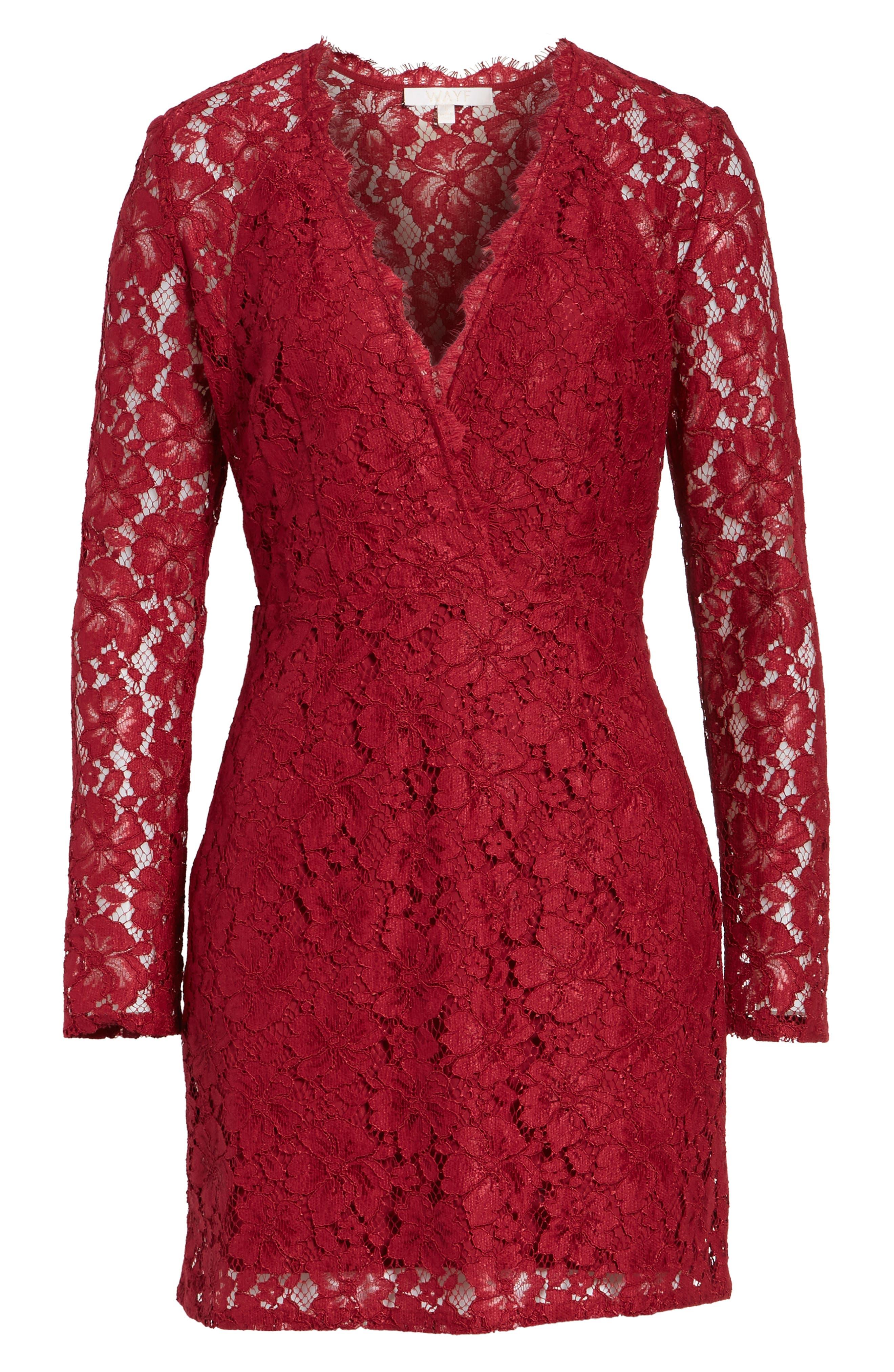 Say It Out Loud Lace Dress,                             Alternate thumbnail 21, color,