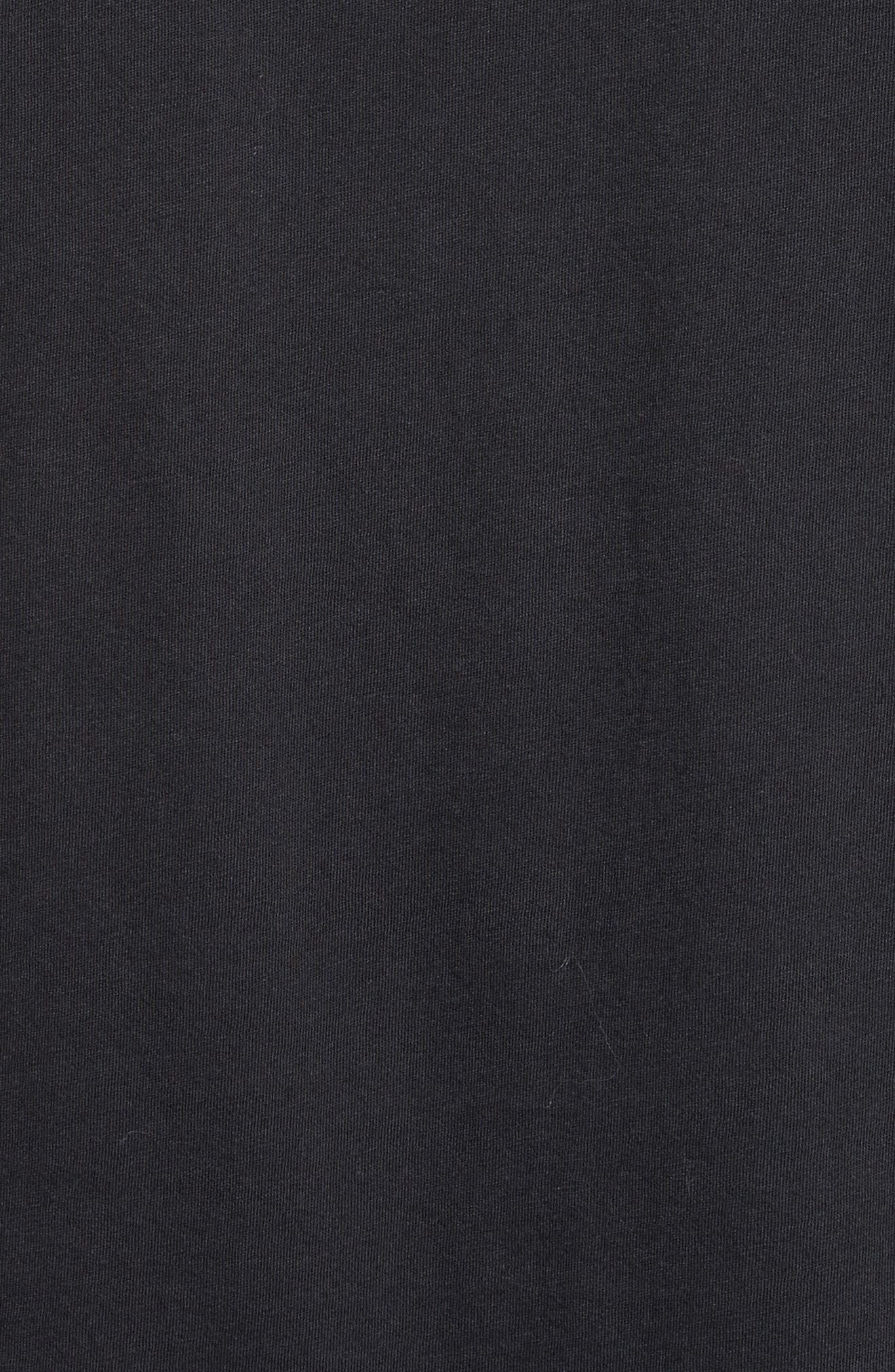 Cotton Jersey T-Shirt,                             Alternate thumbnail 6, color,                             001