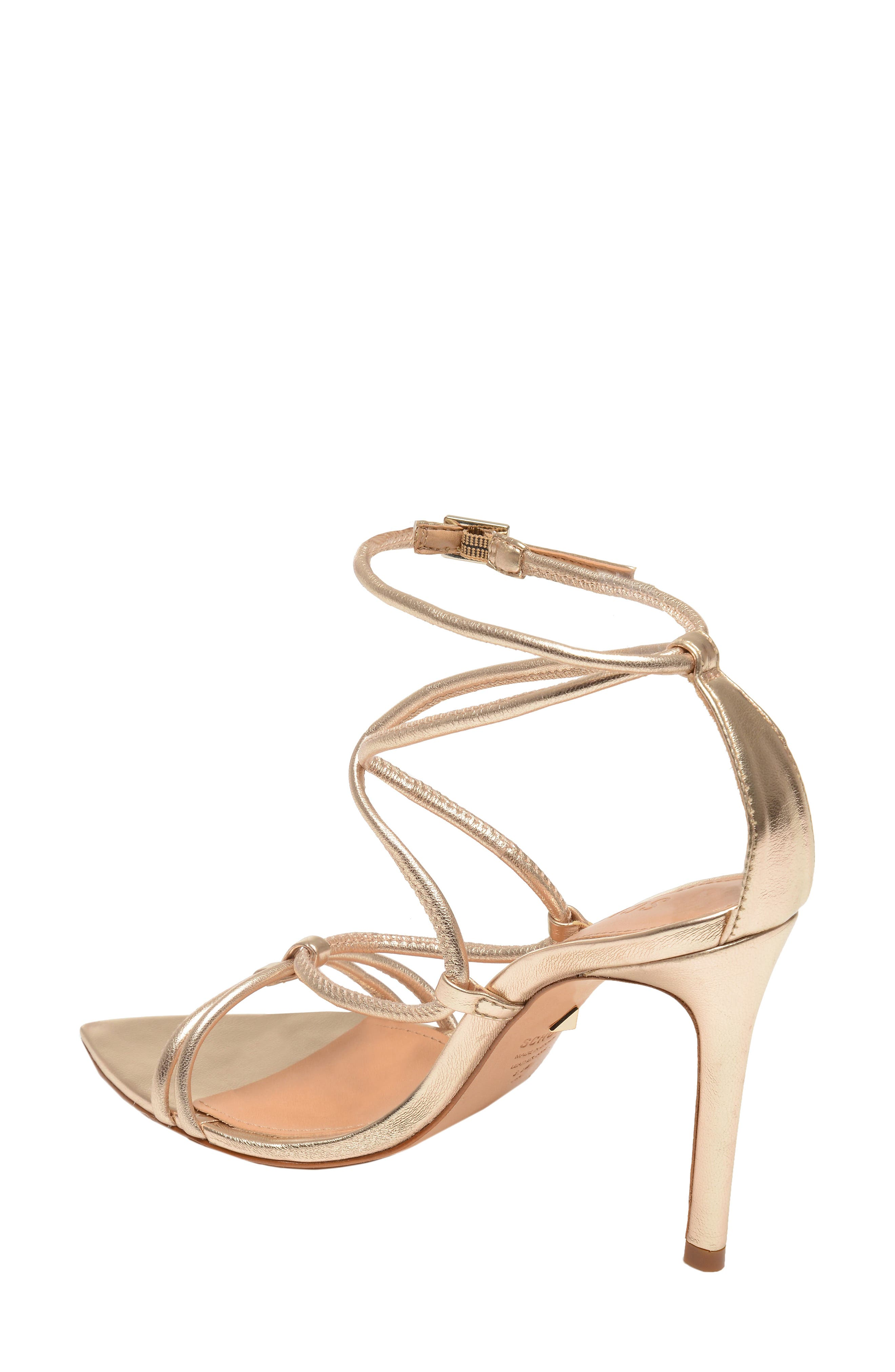 Evellyn Strappy Sandal,                             Alternate thumbnail 2, color,                             PLATINA