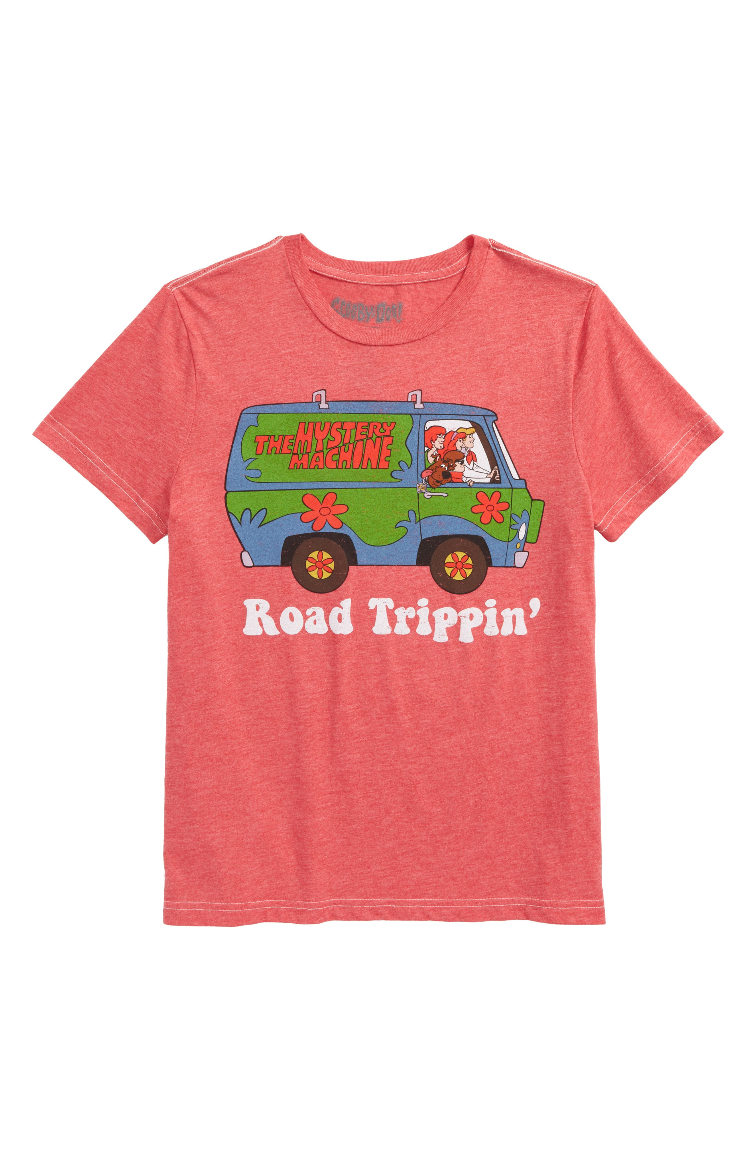 Scooby Doo<sup>™</sup> Road Trippin' Graphic T-Shirt,                             Main thumbnail 1, color,                             625