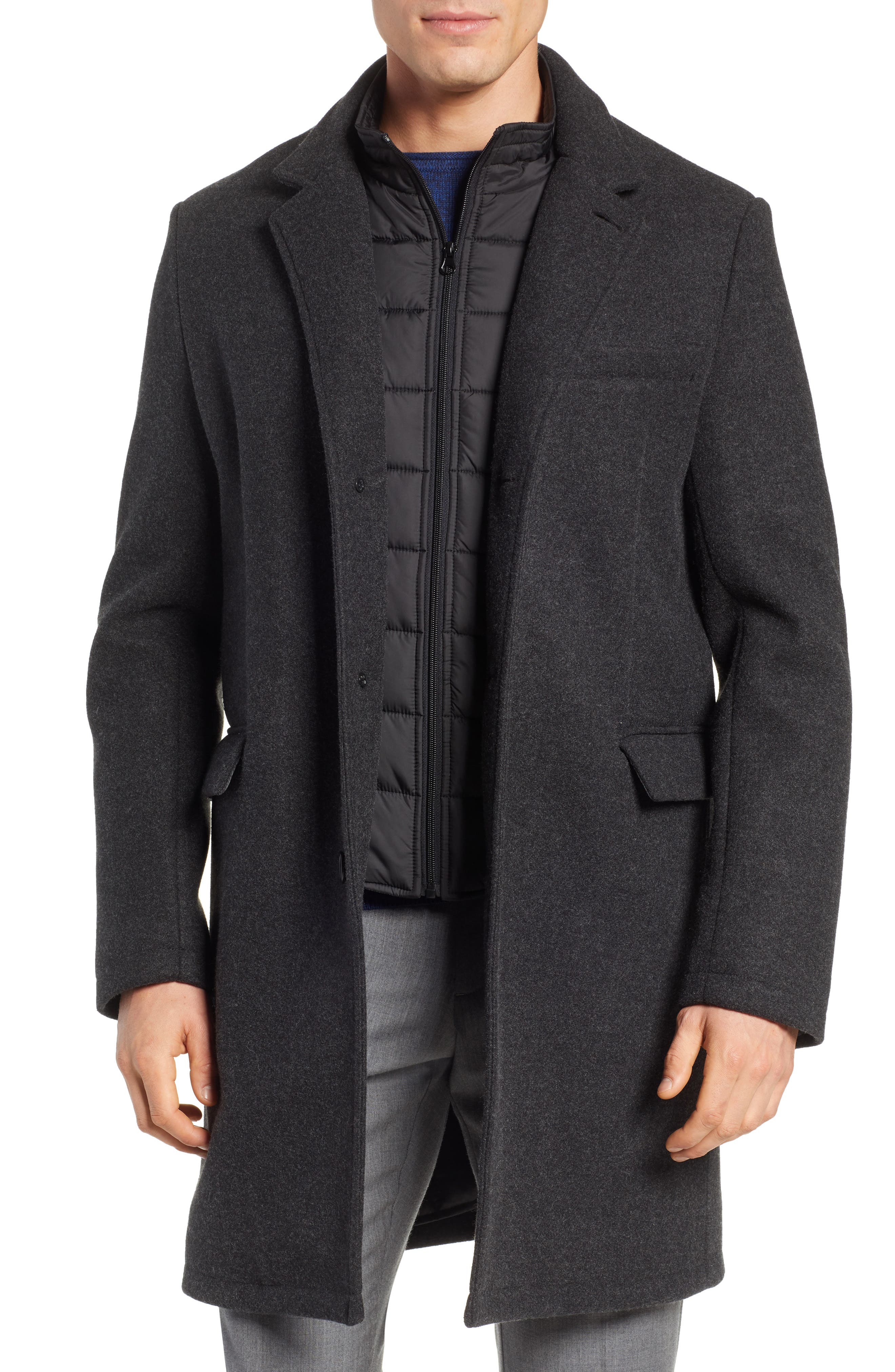 Westcott Wool Car Coat,                             Main thumbnail 1, color,                             001