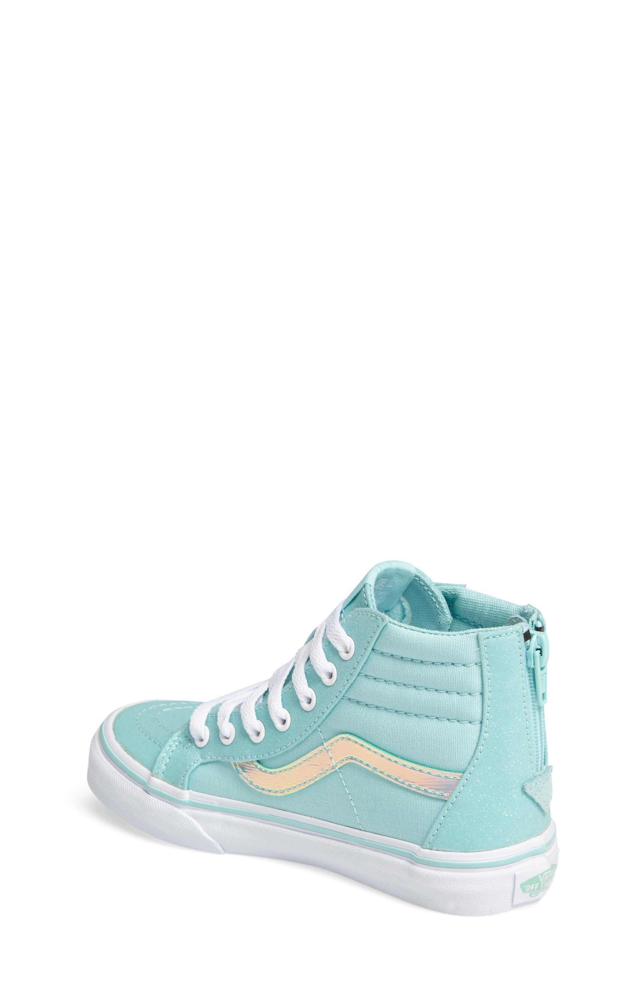 Sk8-Hi Zip Sneaker,                             Alternate thumbnail 2, color,                             450