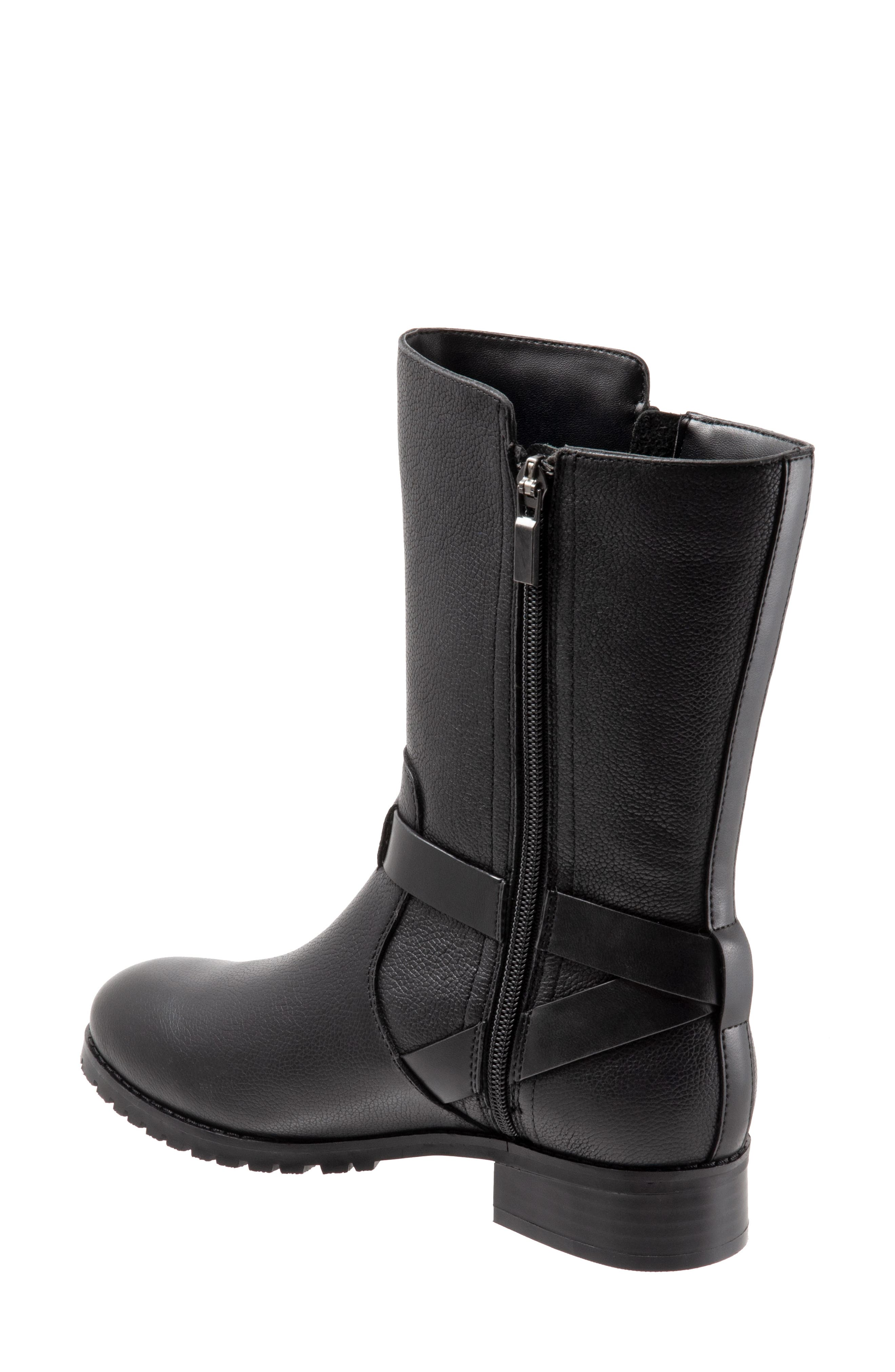 Marlowe Boot,                             Alternate thumbnail 2, color,                             BLACK LEATHER