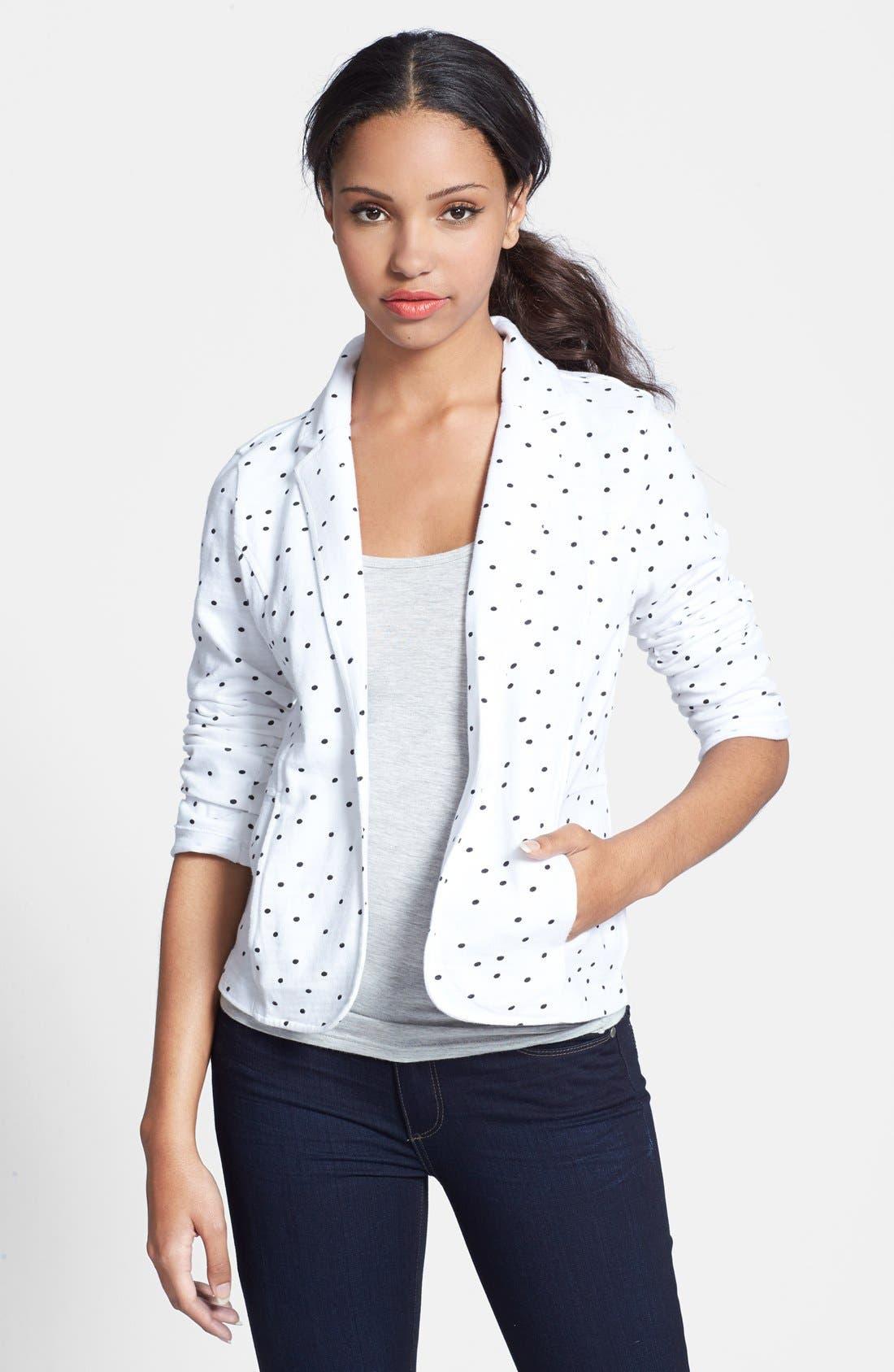Cotton Knit Jacket,                             Main thumbnail 7, color,