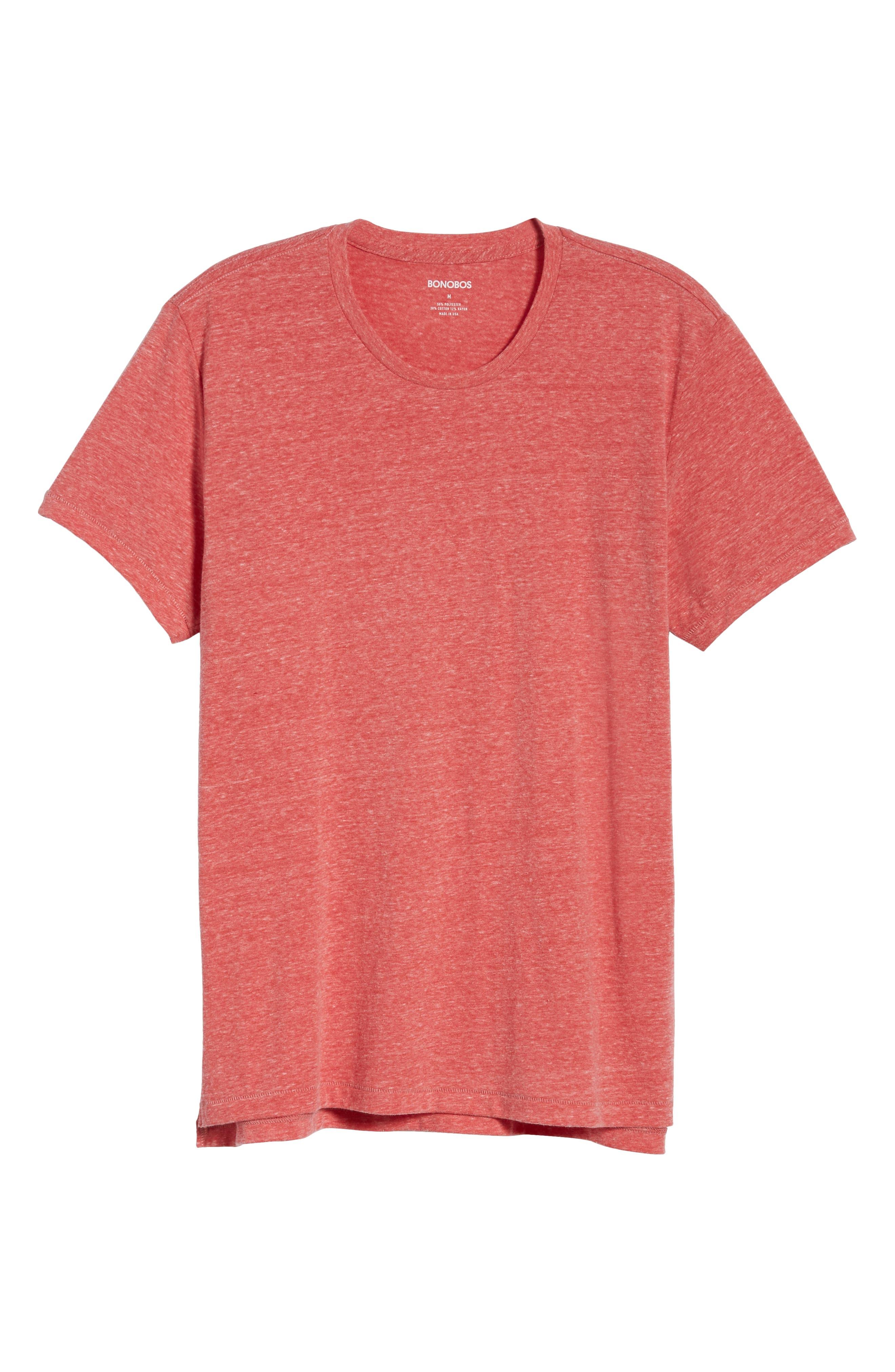 LA Slim Fit Heathered T-Shirt,                             Alternate thumbnail 18, color,