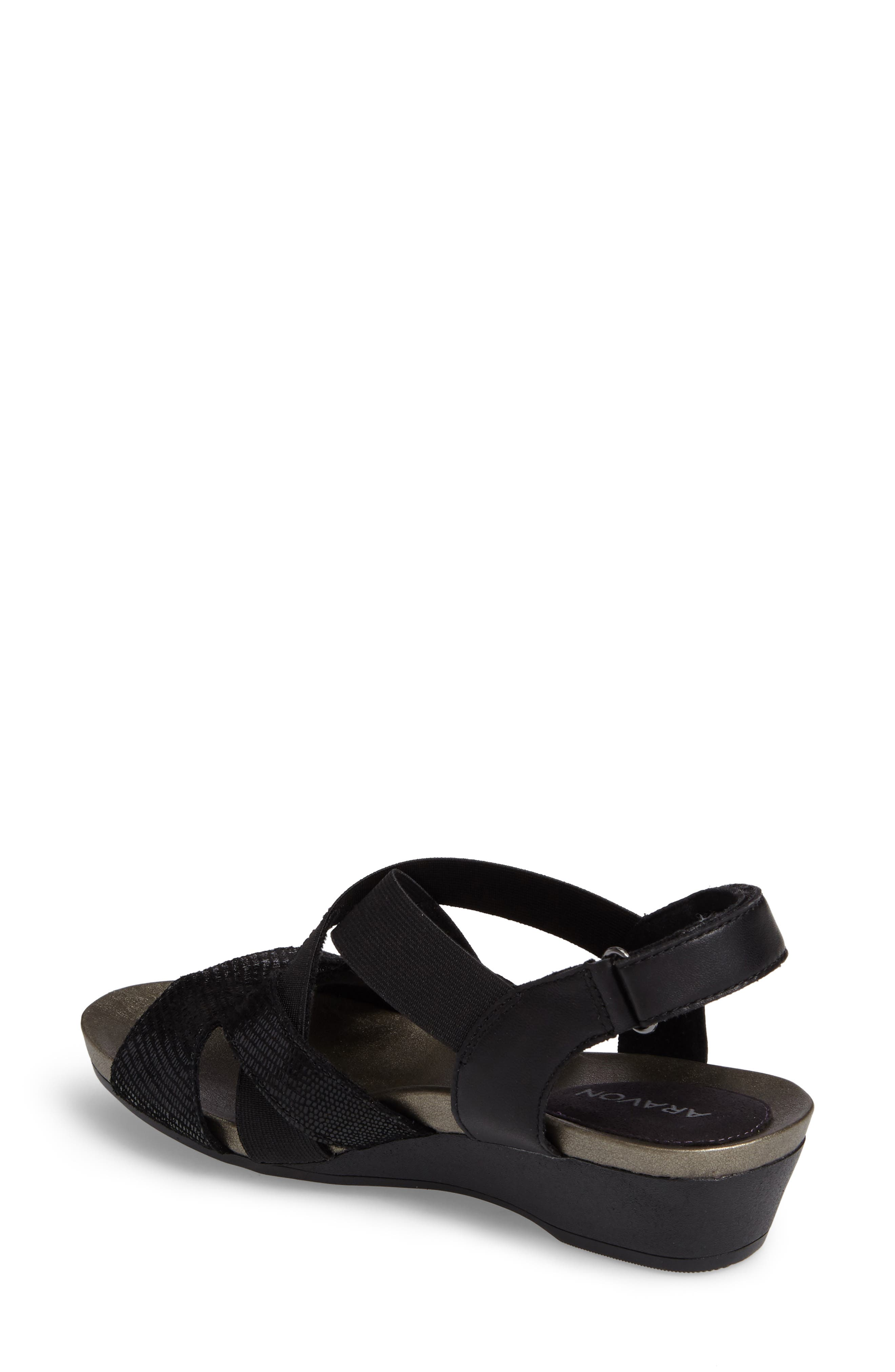 Standon Cross Strap Sandal,                             Alternate thumbnail 2, color,                             001