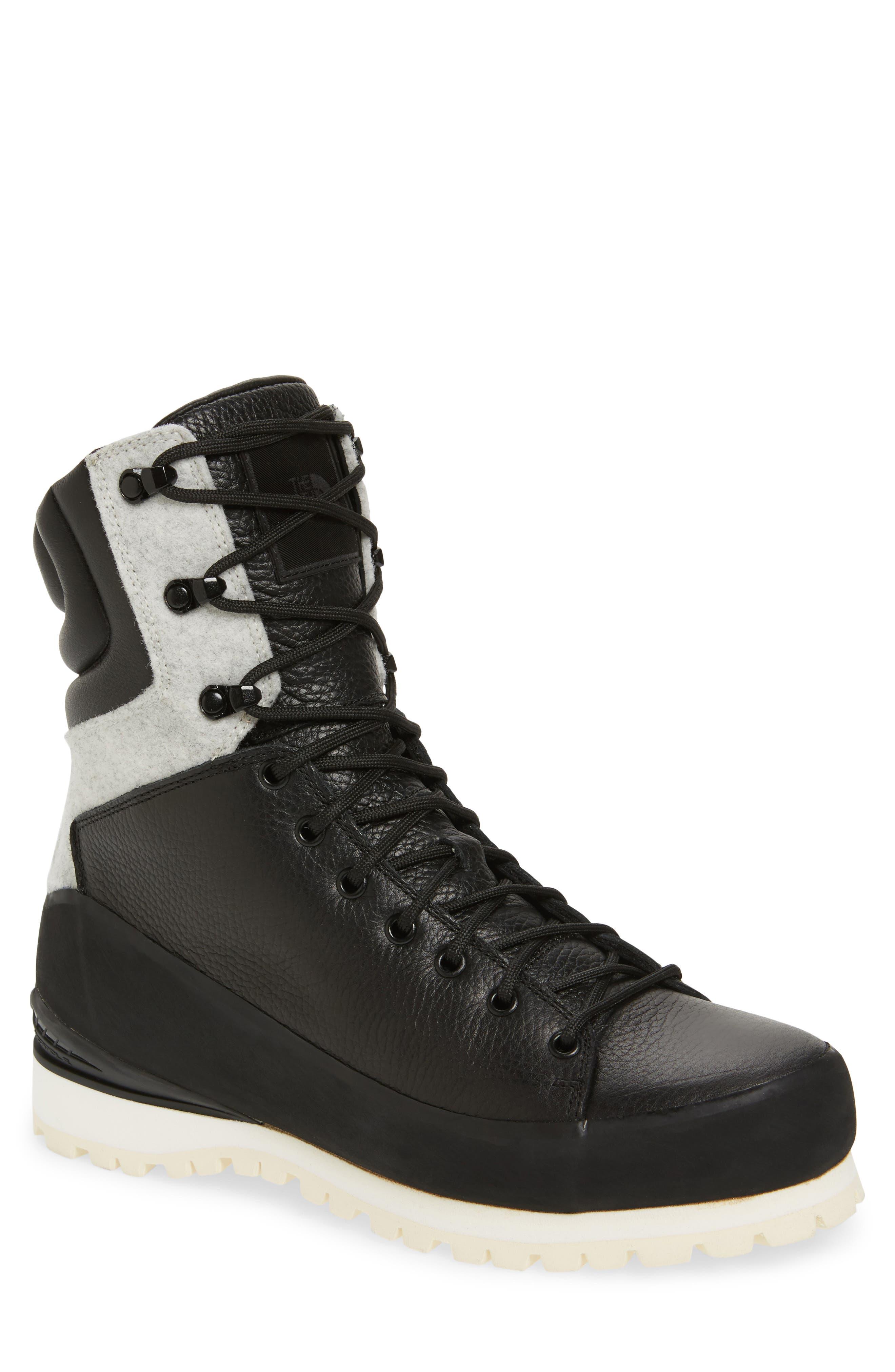 Cryos Boot,                             Main thumbnail 1, color,                             TNF BLACK/ GLACIER WHITE