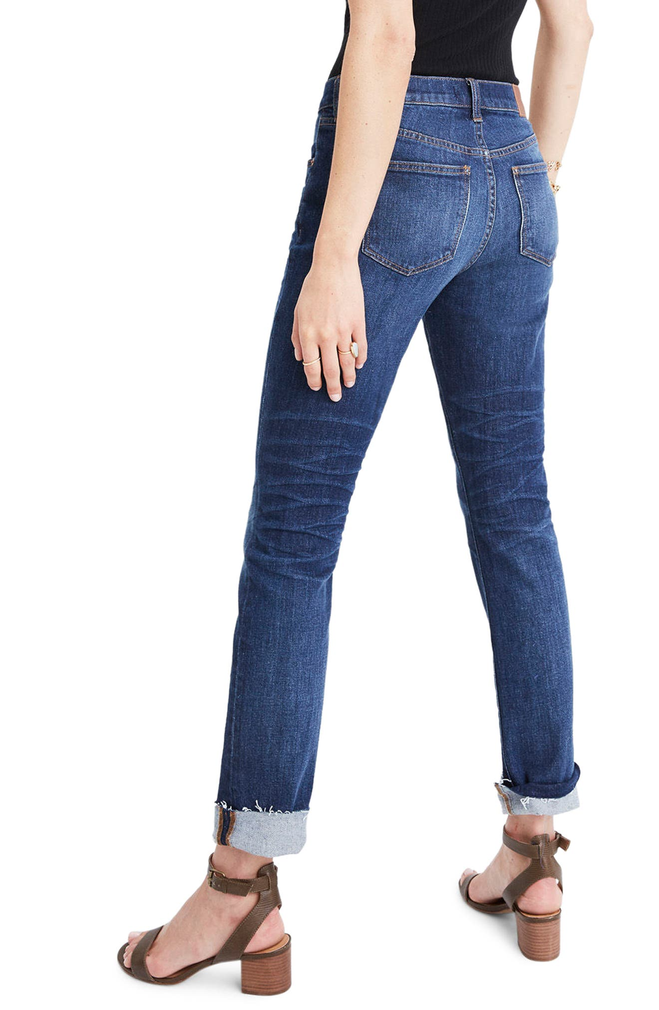 Slim Boyfriend Jeans,                             Alternate thumbnail 2, color,