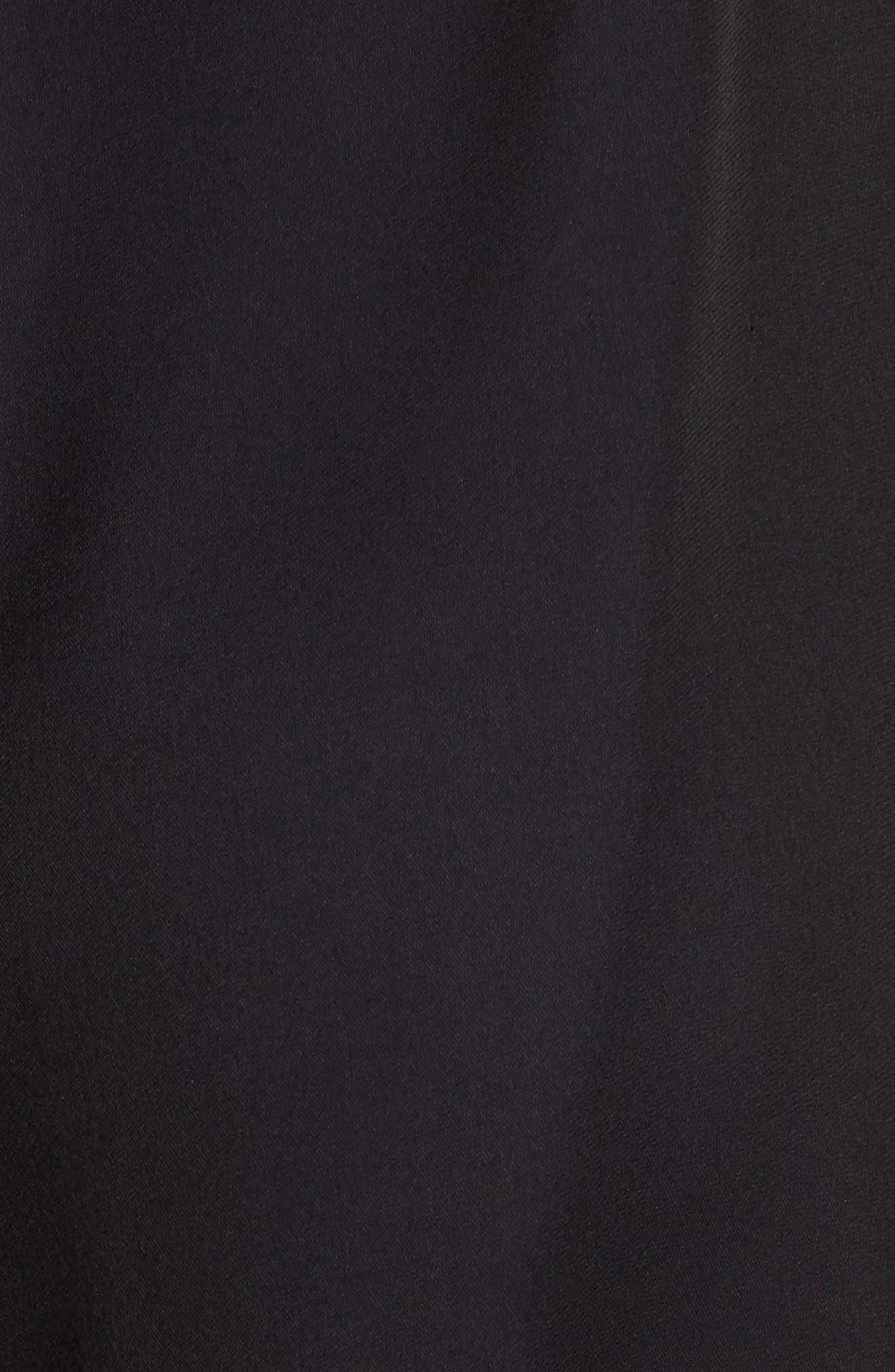 x Gigi Hadid Racerback Dress,                             Alternate thumbnail 6, color,                             001
