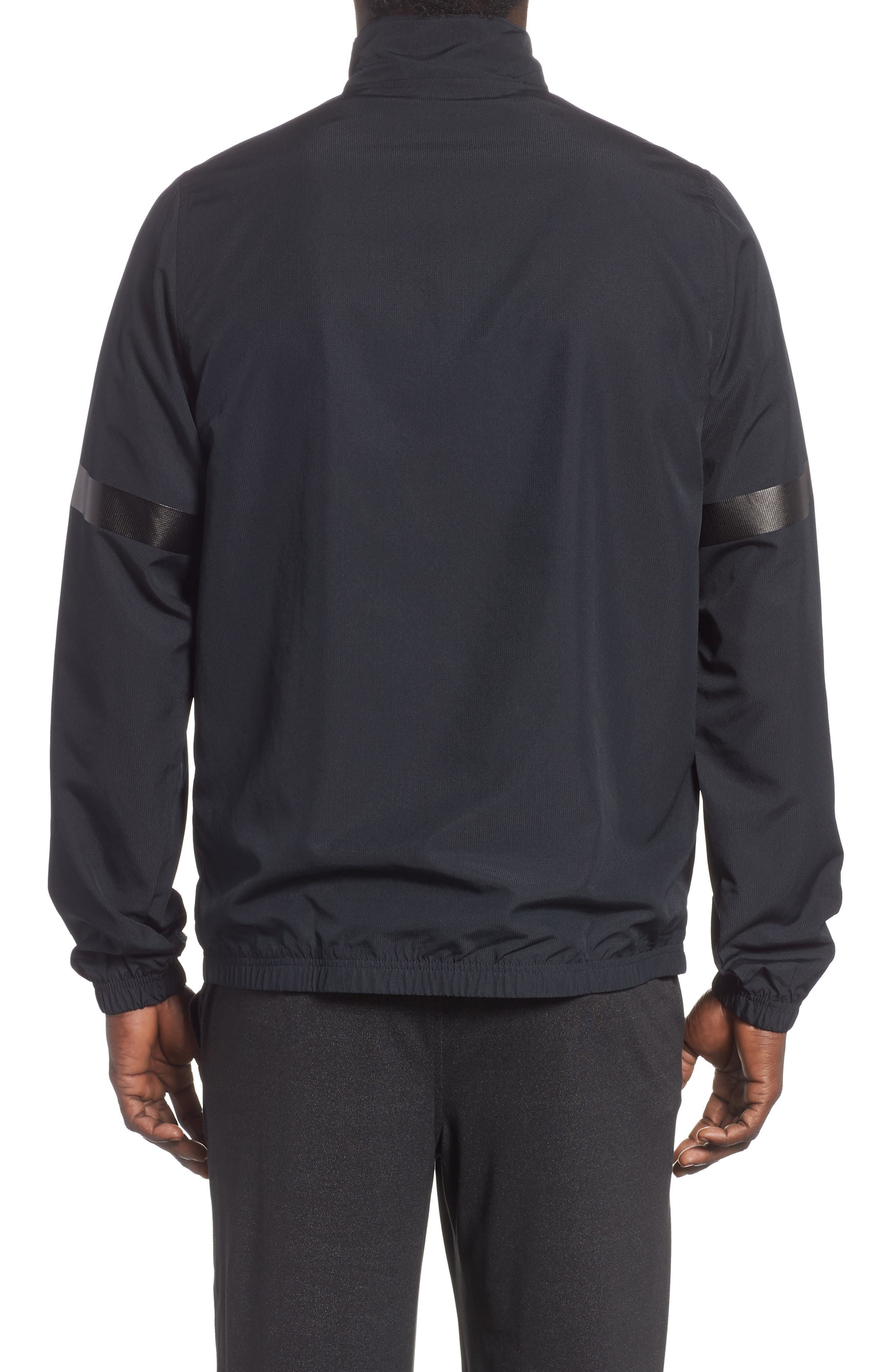 Sportstyle Half Zip Pullover,                             Alternate thumbnail 2, color,                             BLACK