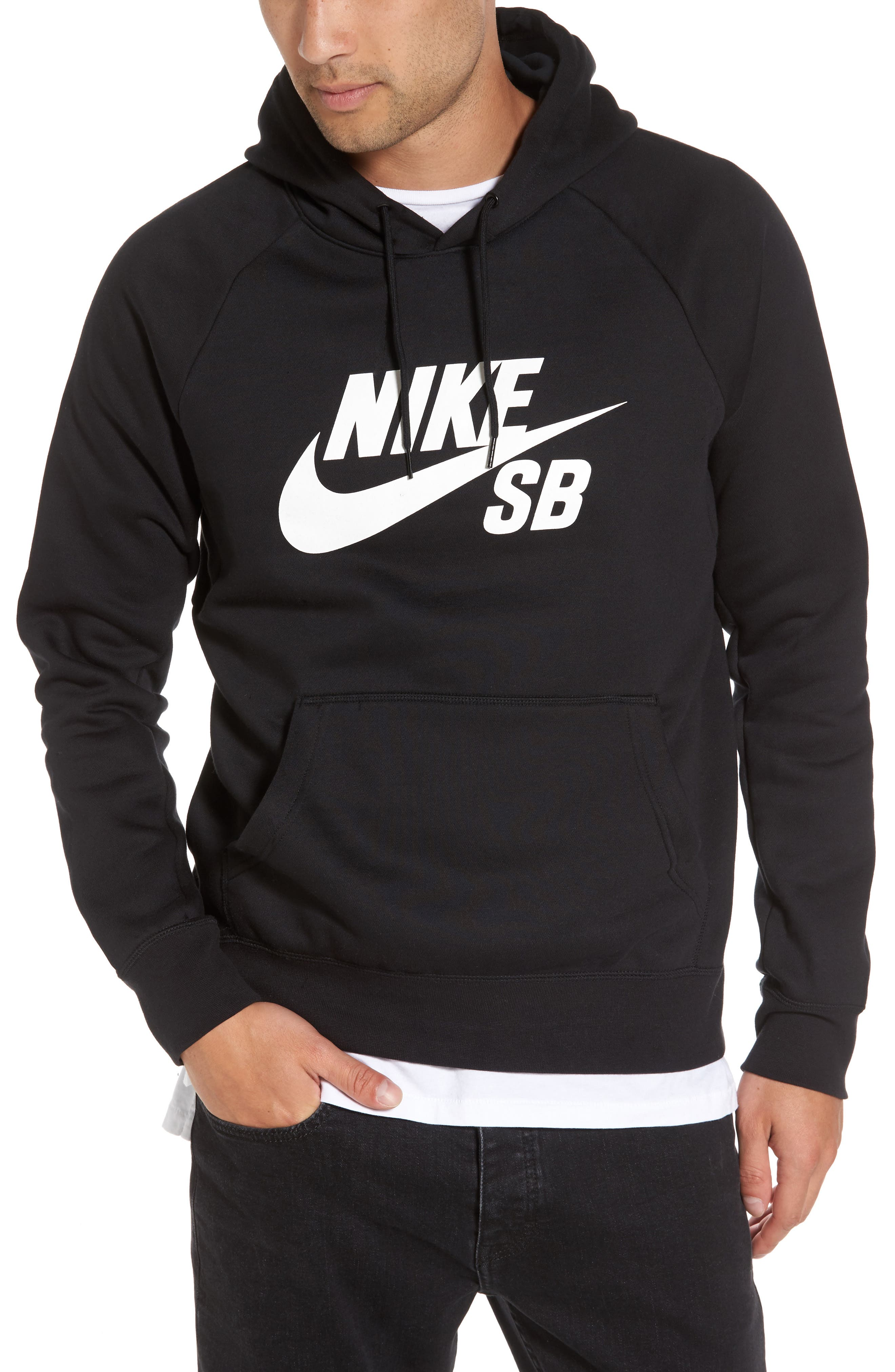 Icon Graphic Hoodie,                             Main thumbnail 1, color,                             010