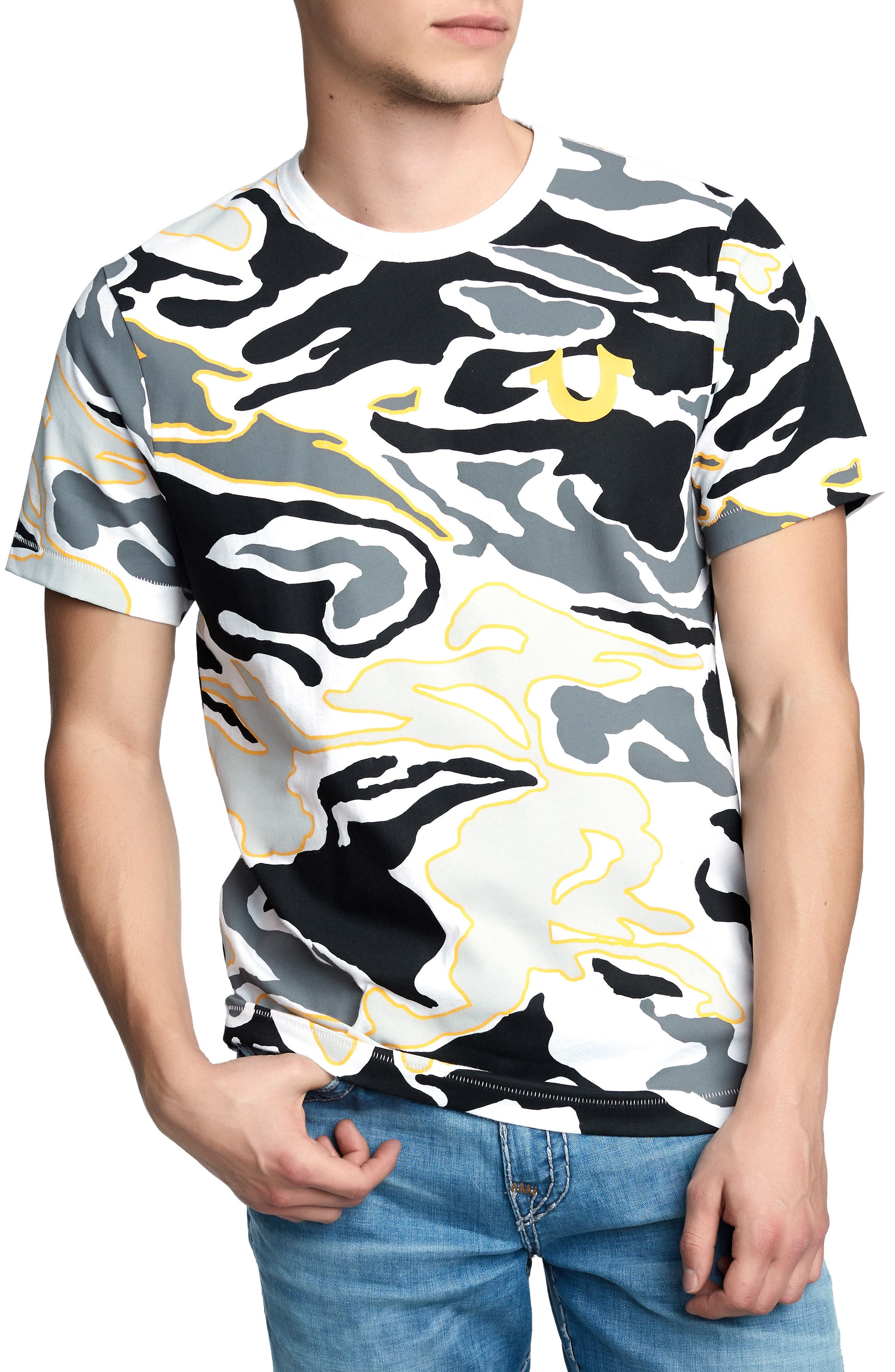 Camo Seasonal Buddha T-Shirt,                         Main,                         color, 700