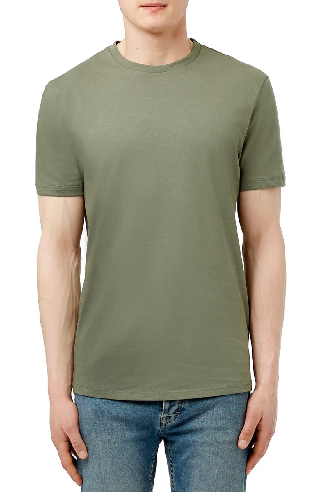 Slim Fit Crewneck T-Shirt,                             Main thumbnail 54, color,