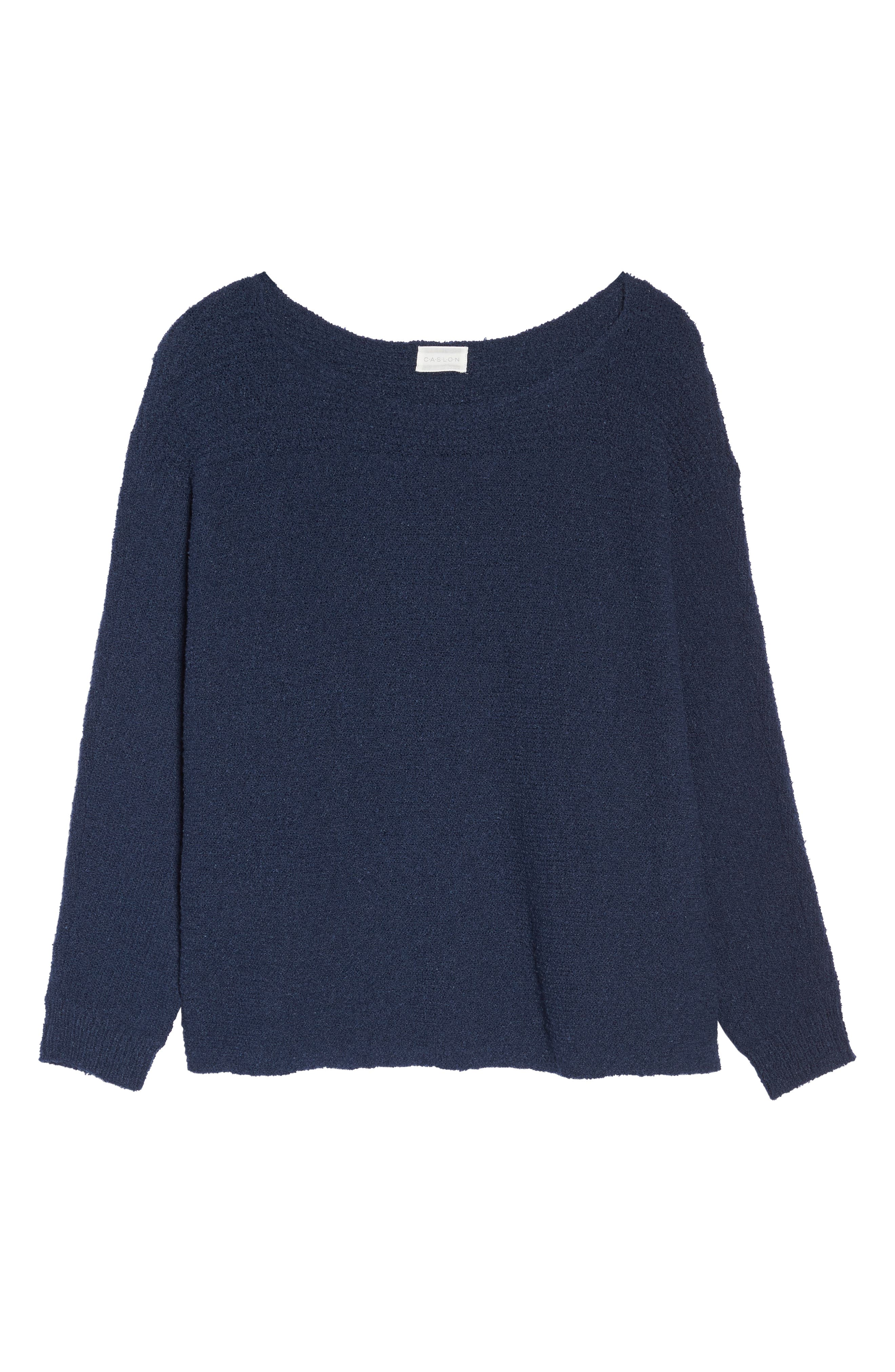 Horizontal Pullover Sweater,                             Alternate thumbnail 7, color,                             410