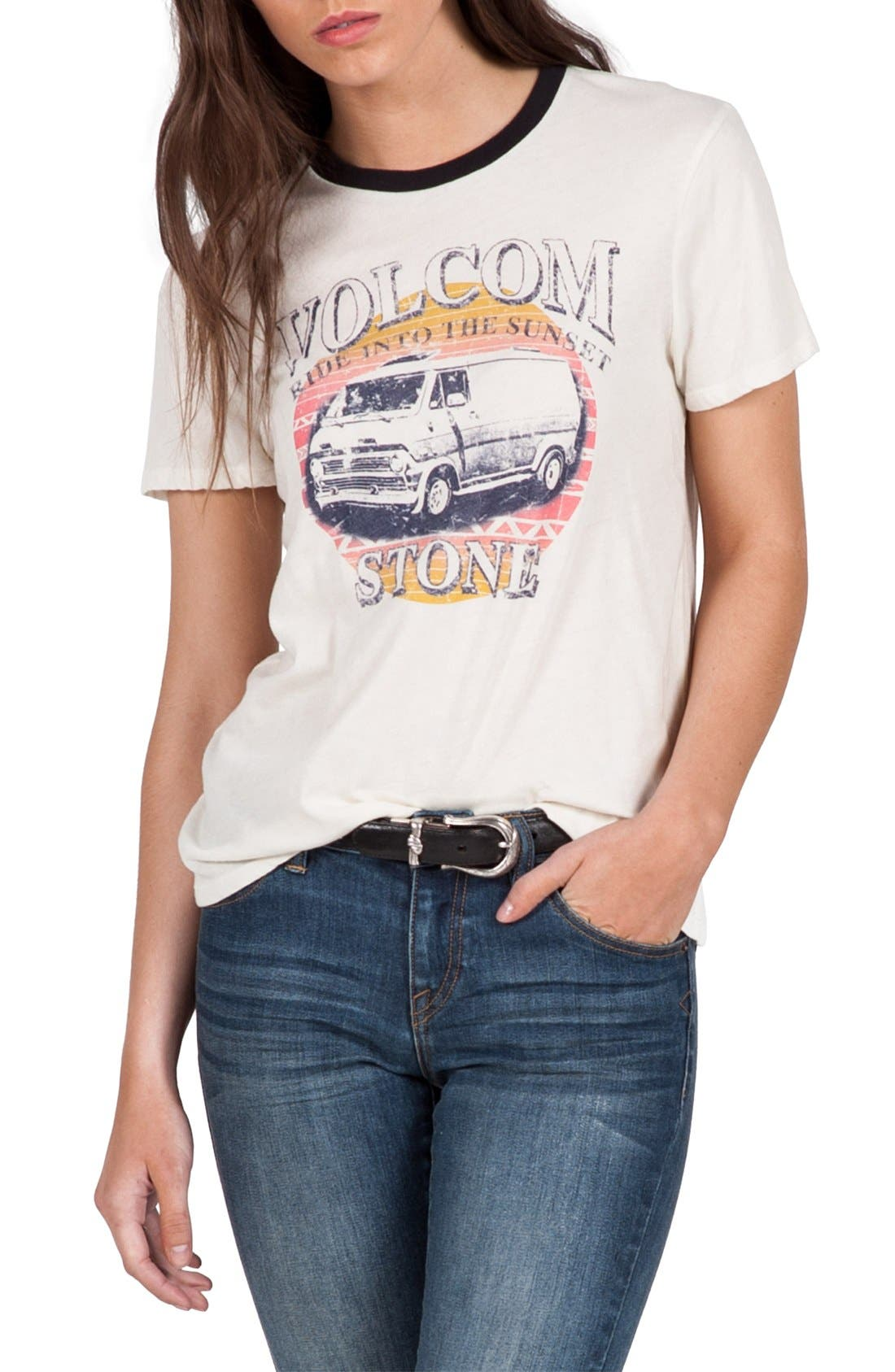 Sunset Voyage Graphic Tee,                             Main thumbnail 1, color,                             105