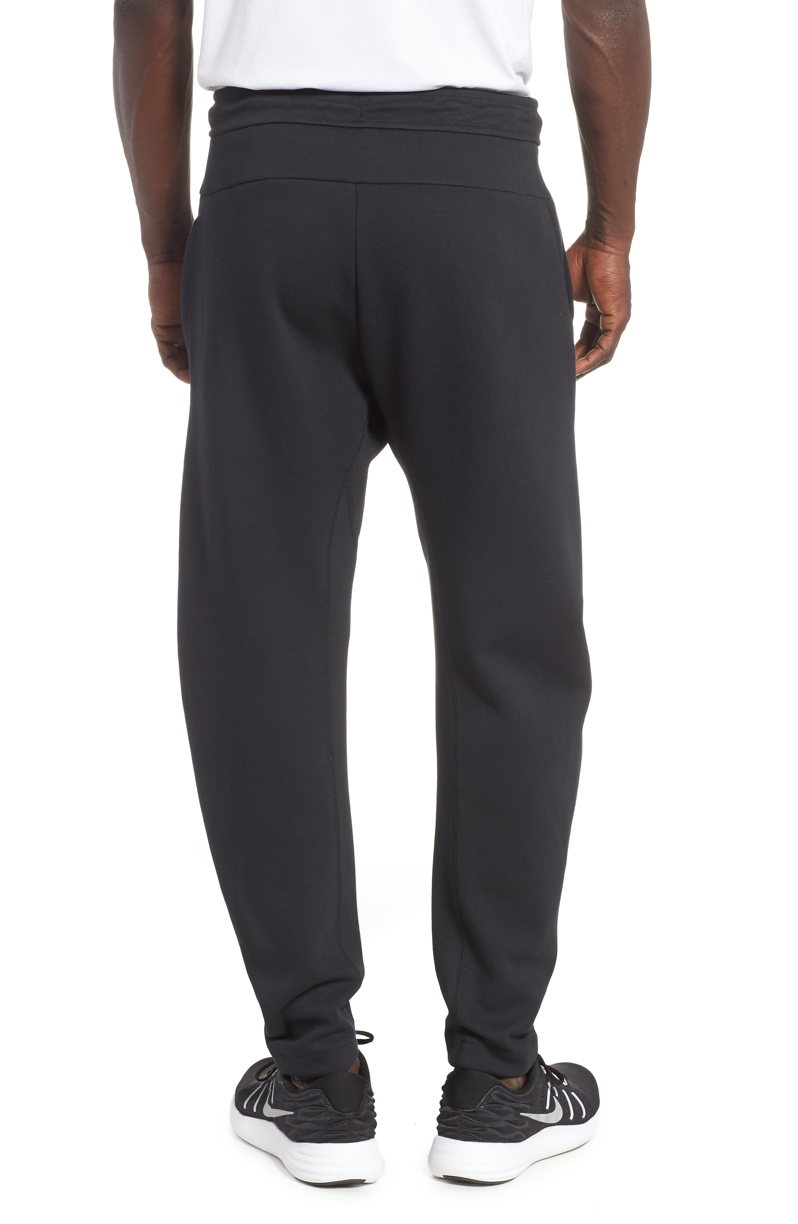 Tech Fleece Pants,                             Alternate thumbnail 2, color,                             BLACK/ BLACK