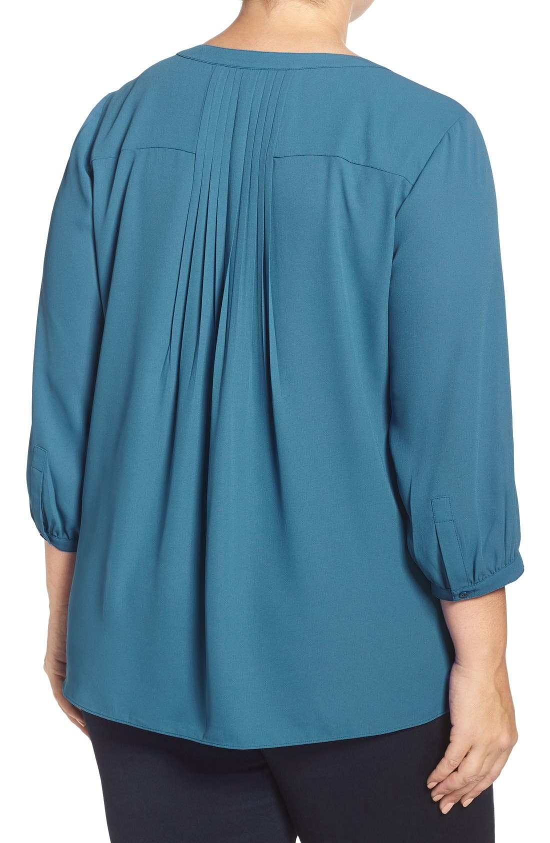 Henley Top,                             Alternate thumbnail 140, color,