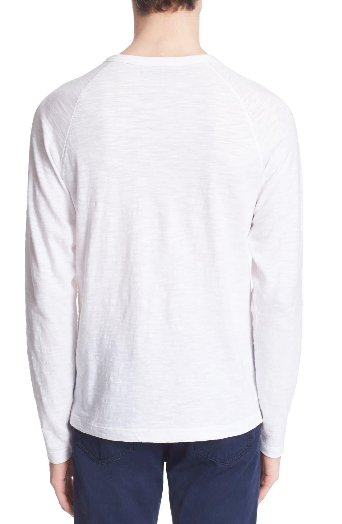 Long Sleeve Cotton Jersey Henley,                             Alternate thumbnail 7, color,