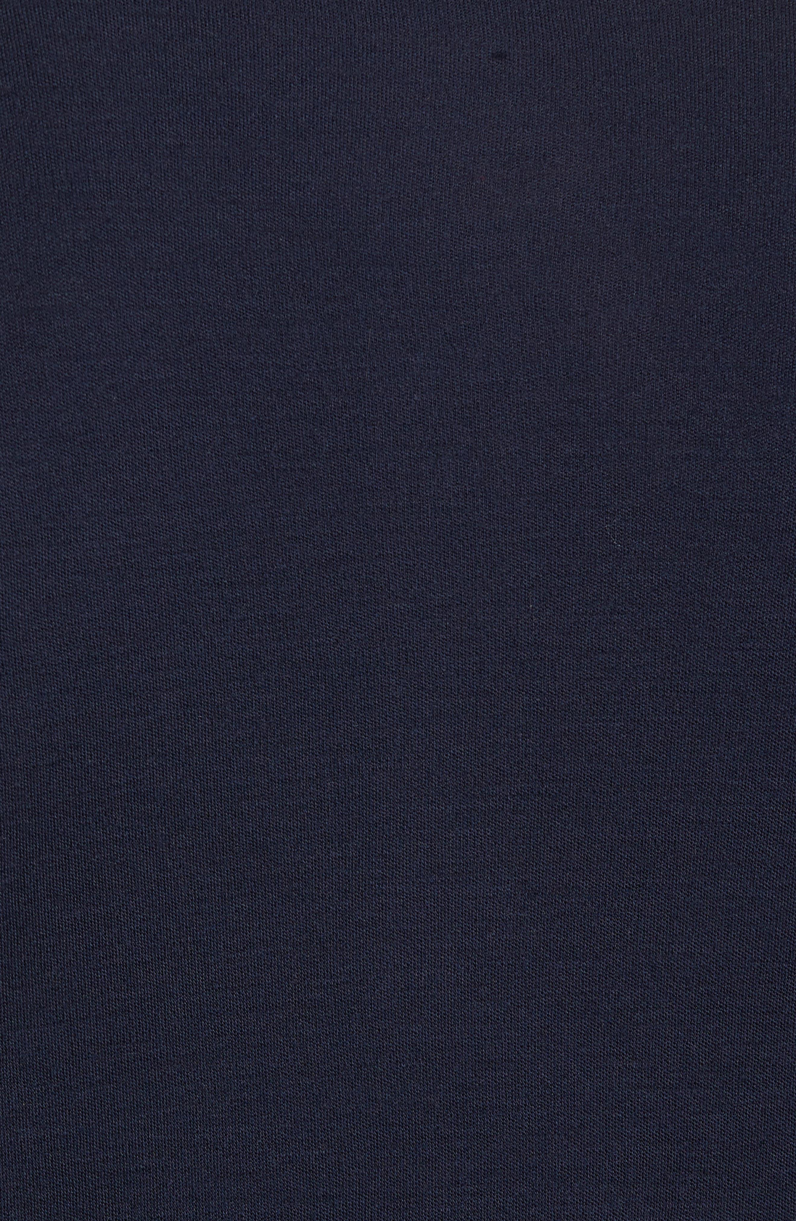 Merino 250 Base Layer Pattern Quarter Zip Pullover,                             Alternate thumbnail 5, color,                             410