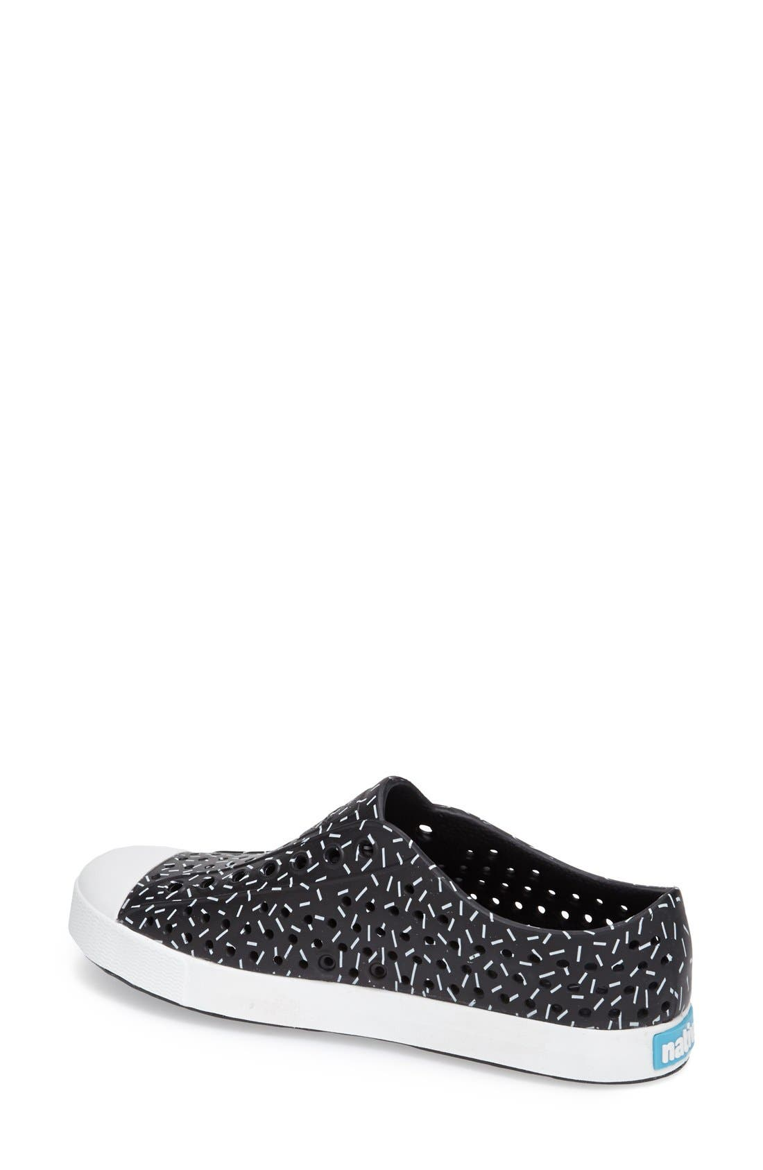 'Jefferson' Printed Slip-On Sneaker,                             Alternate thumbnail 5, color,