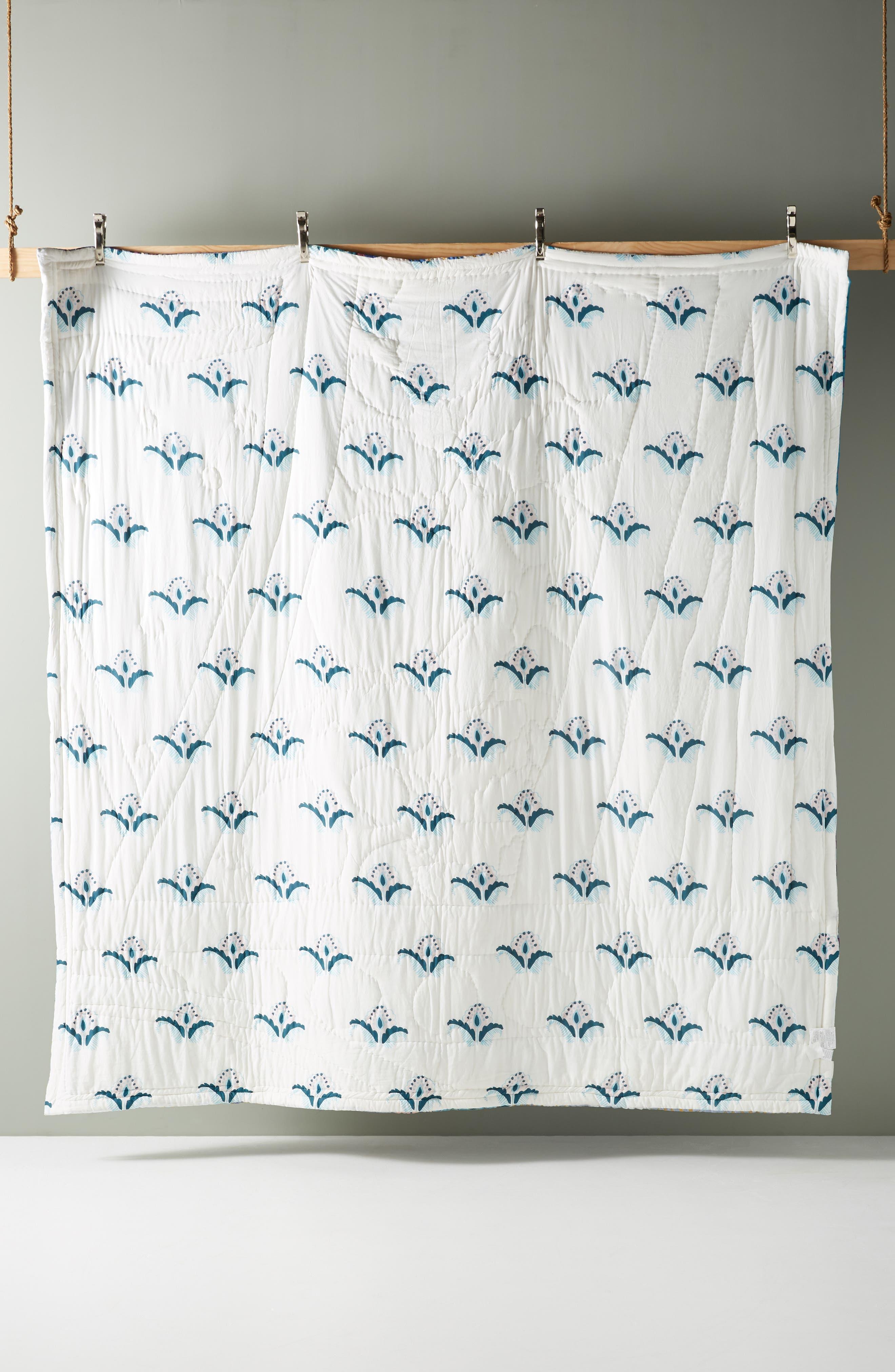 Sunder Quilt,                             Alternate thumbnail 2, color,                             BLUE