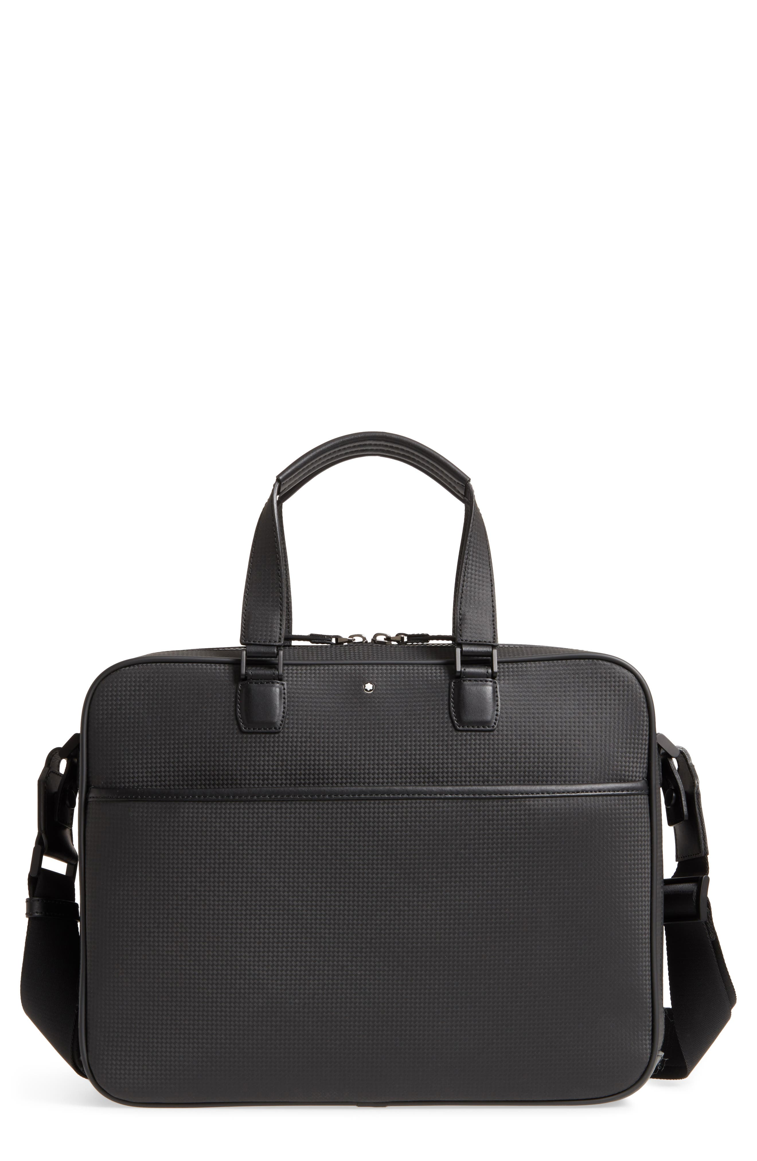 Extreme Collection Leather Document Briefcase,                         Main,                         color,