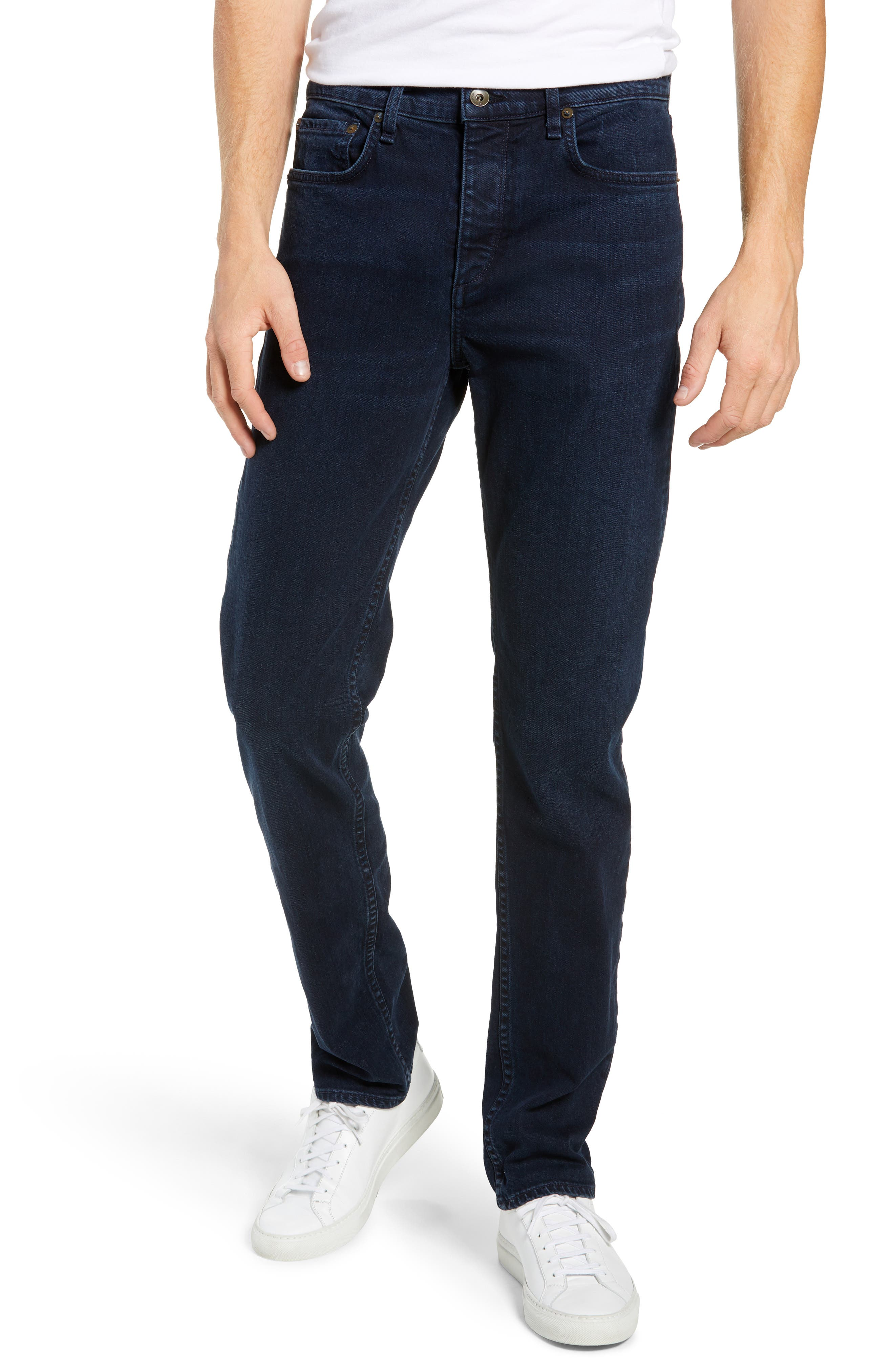 Fit 3 Slim Straight Leg Jeans,                         Main,                         color, BAYVIEW